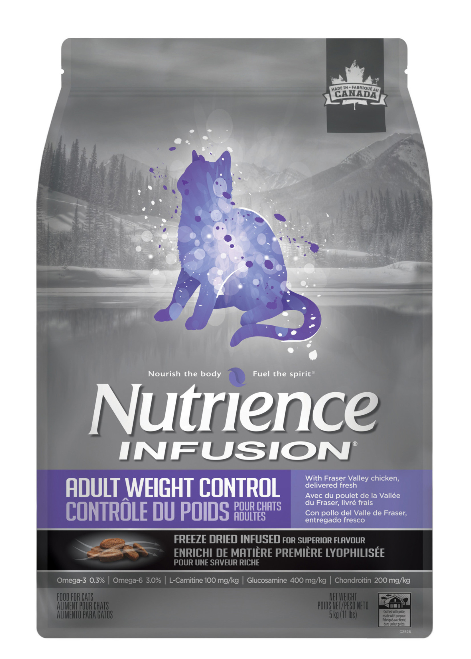 NUTRIENCE NUTRIENCE INFUSION CAT WEIGHT CARE 11lbs
