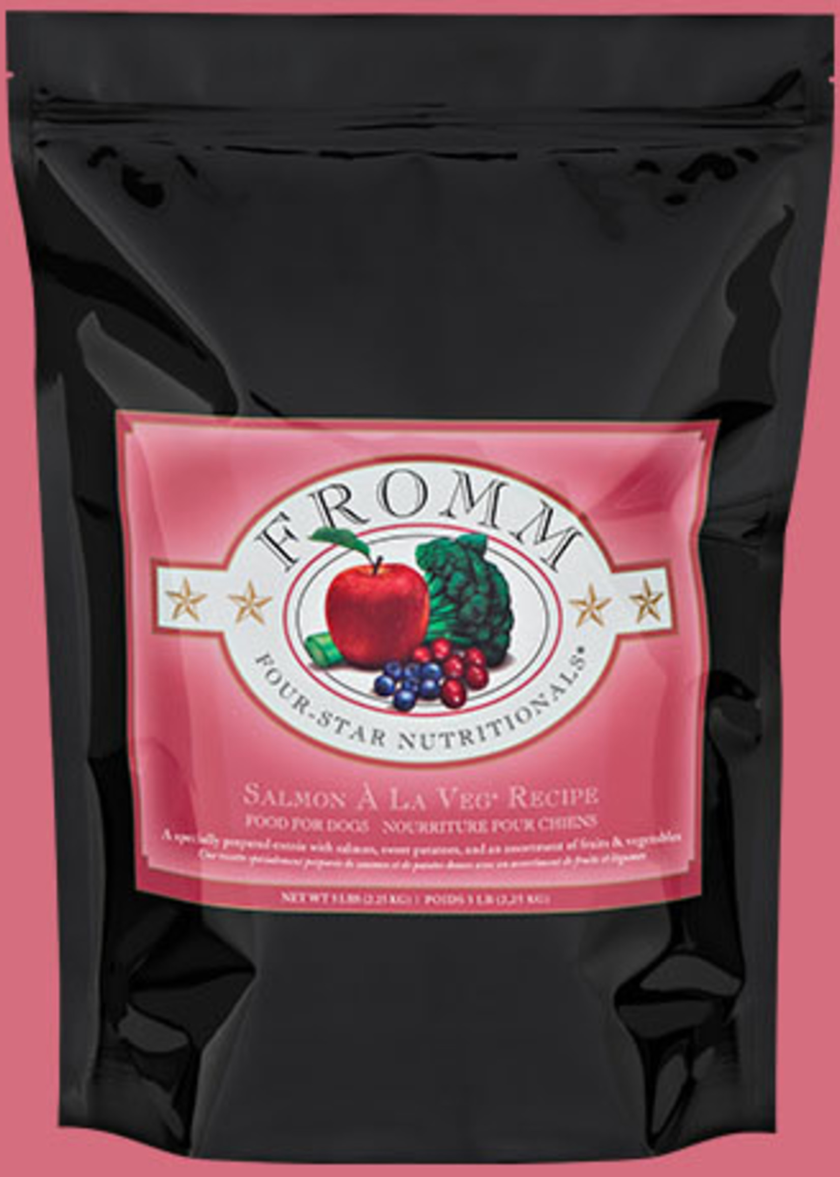 Fromm Fromm Four-Star Salmon À La Veg® Recipe