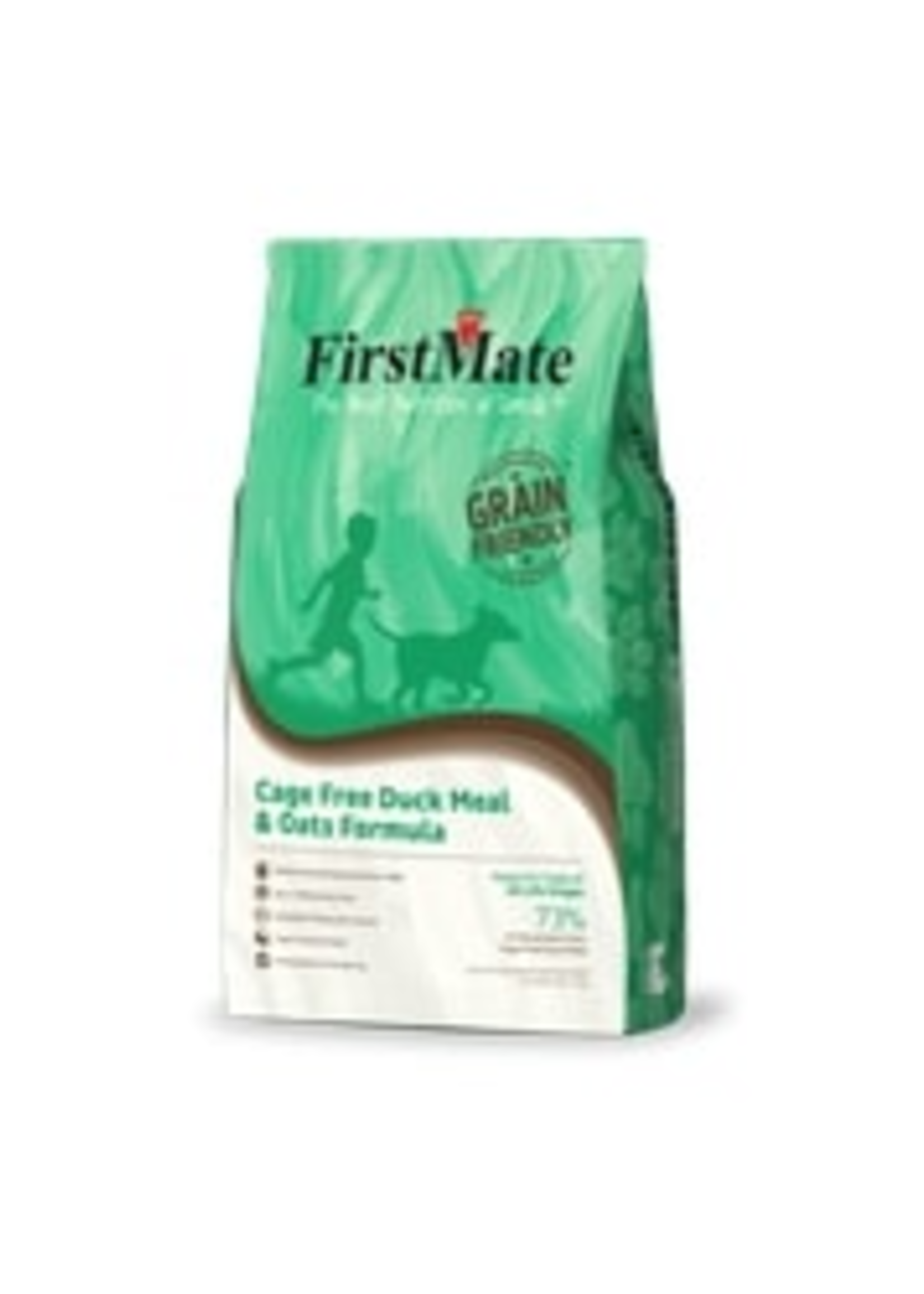 FirstMate Cage Free Duck Meal and Oats 5lbs