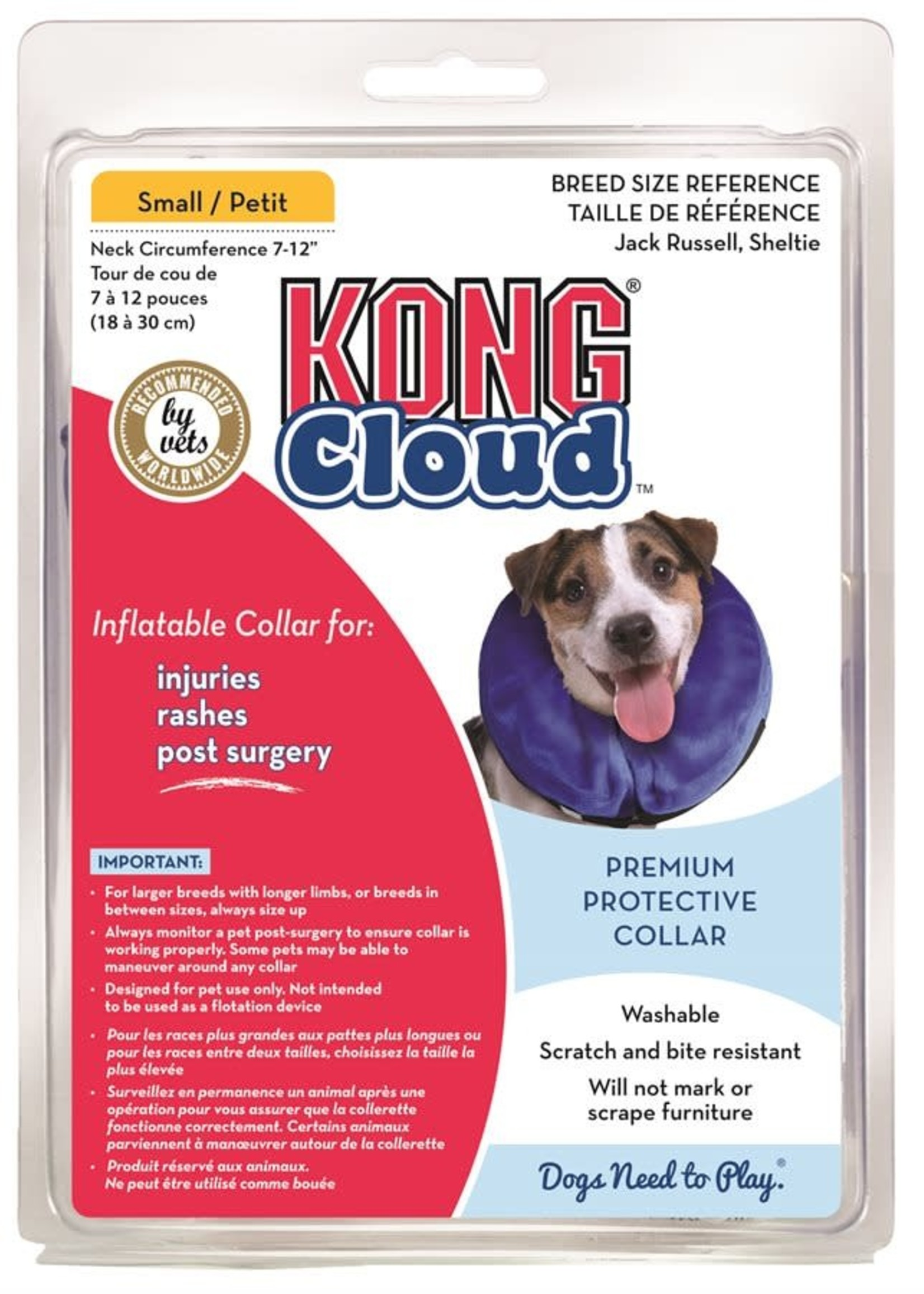 Kong® Kong Cloud Collar Small