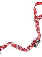 Coastal® DOG POTTY TRAINING BELLS RED AND WHITE PAW