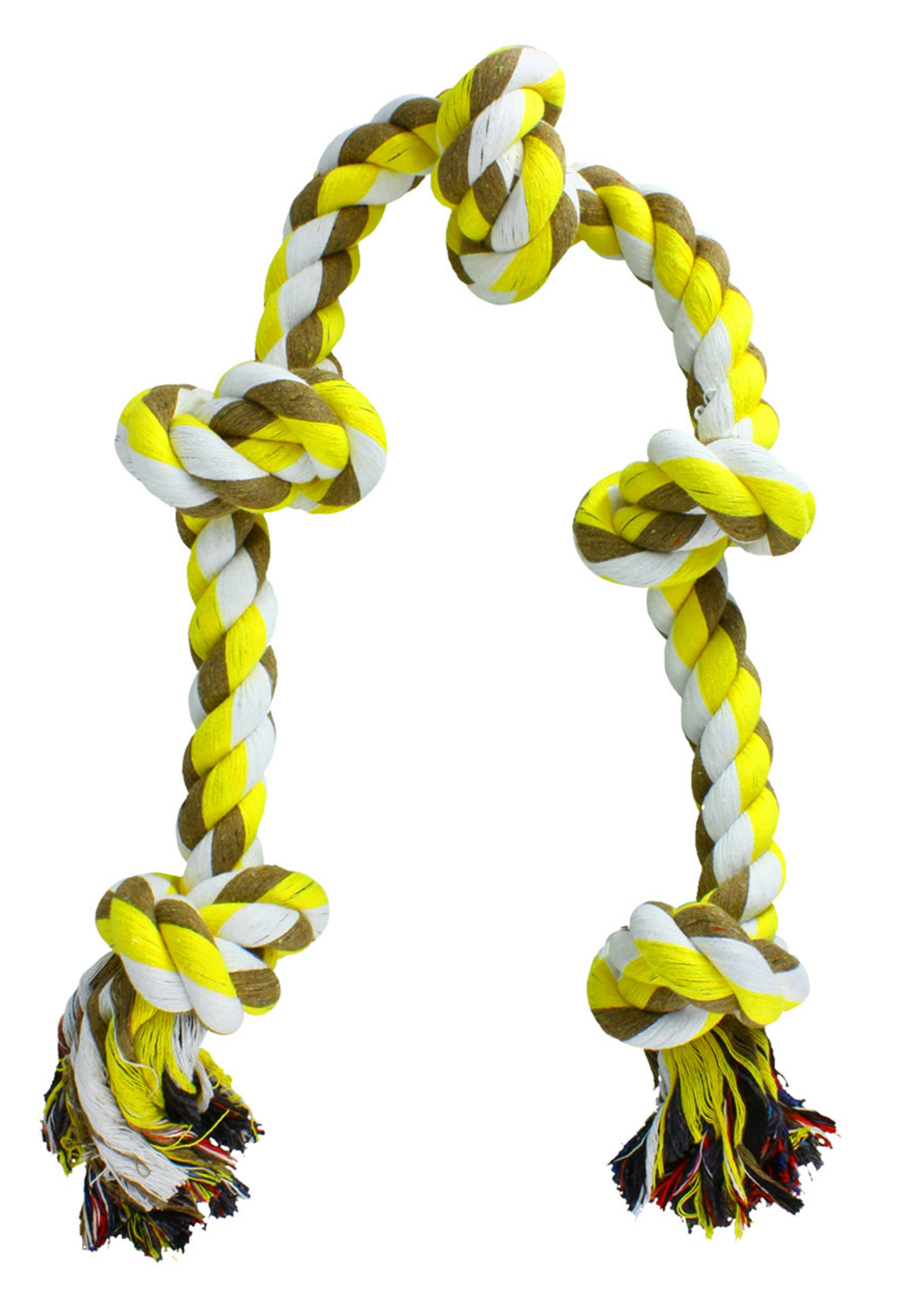 "Animal Treasures Animal Treasures 5 Knot Dental Rope 36"""