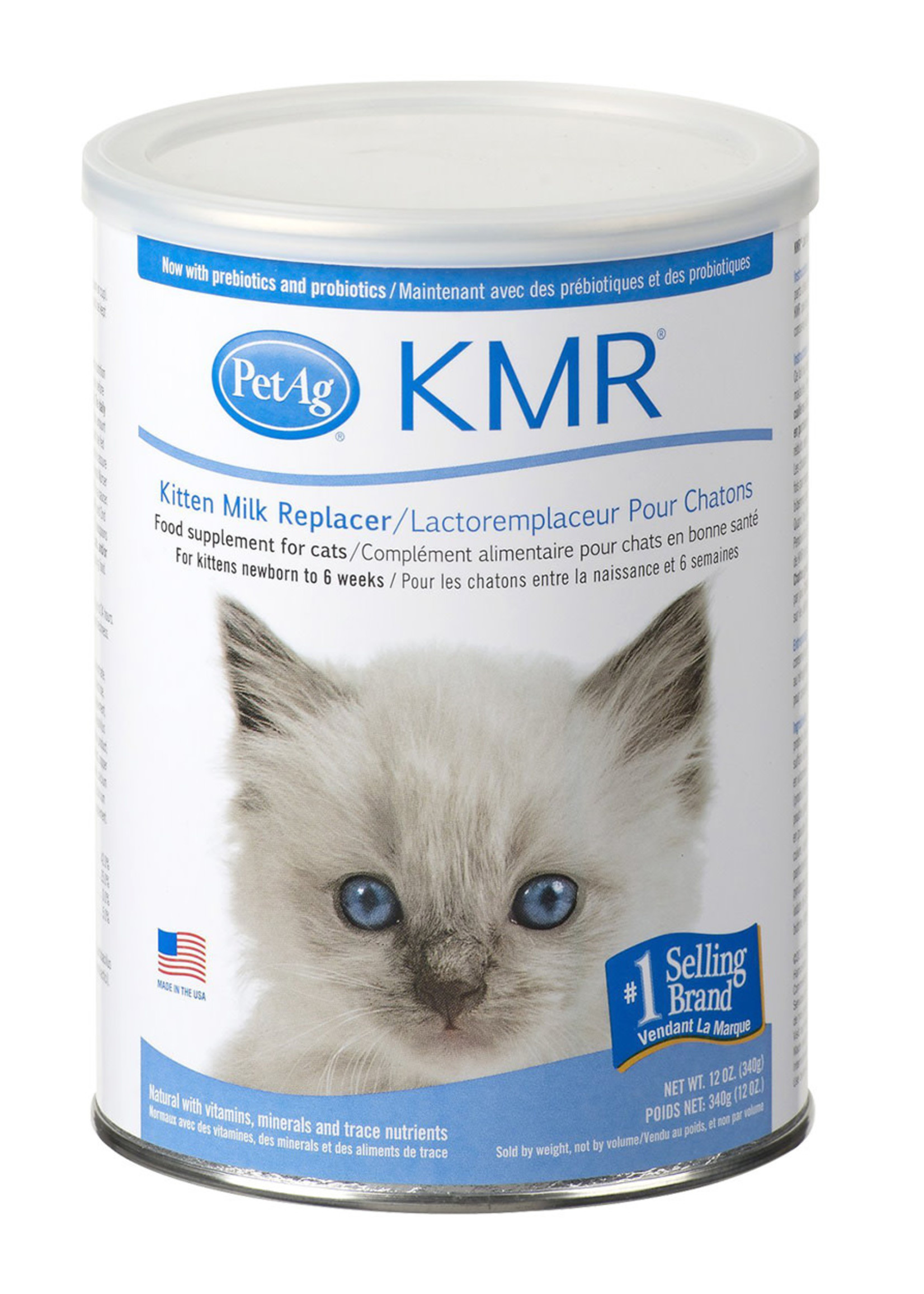 PetAg® PETAG KMR POWDER (Kitten Meal Replacer)  12oz