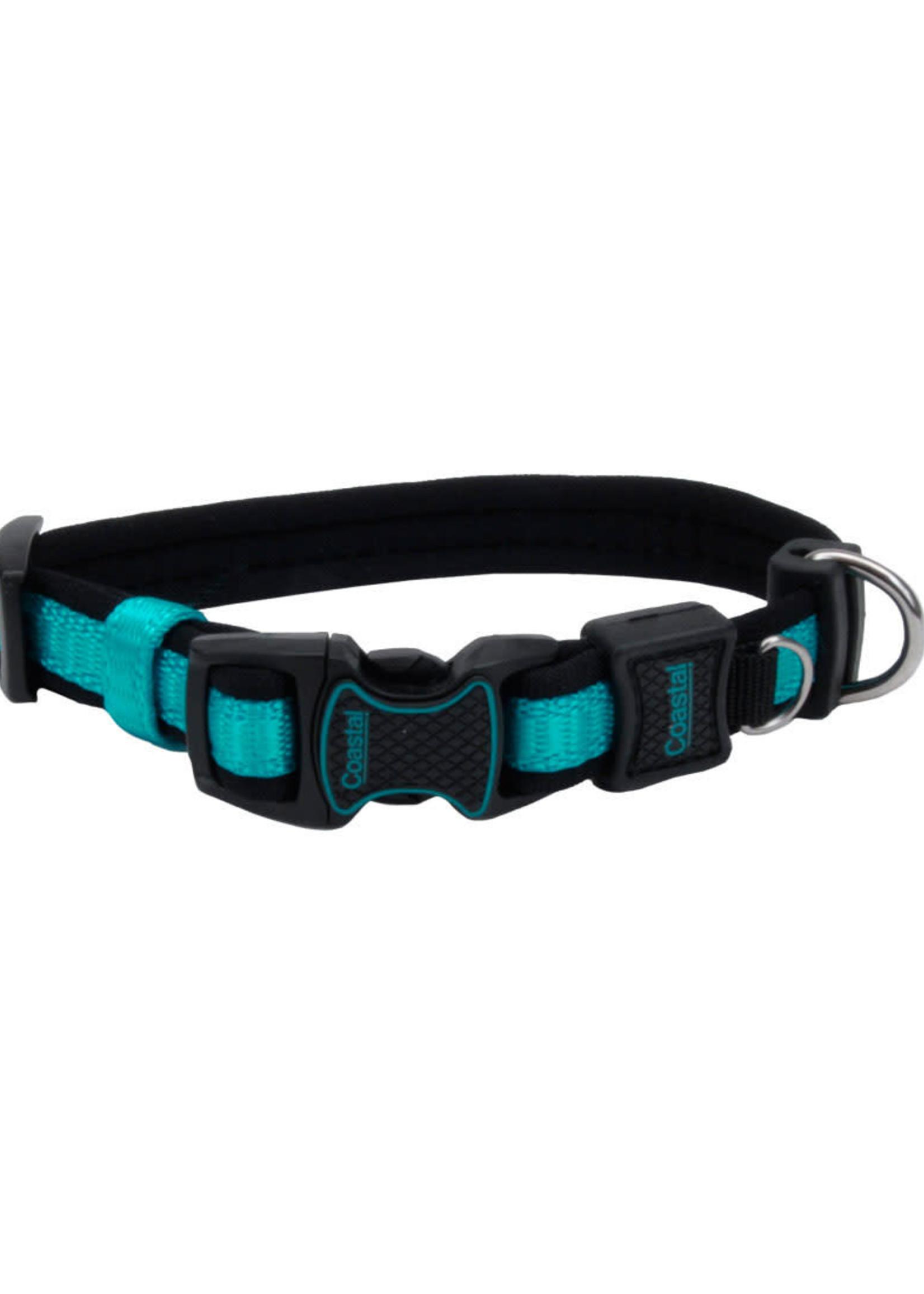 Coastal® Inspire Adjustable Neoprene Collar Mdm Aqua