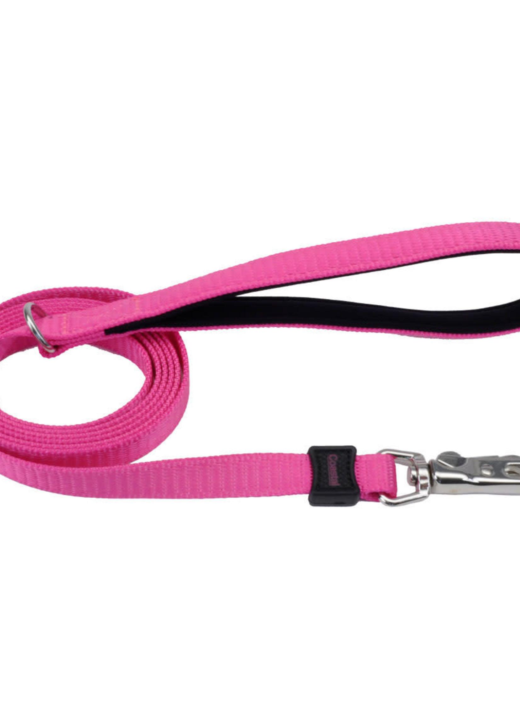 "Coastal® Inspire Neoprene Leash  1""x6' Pink"