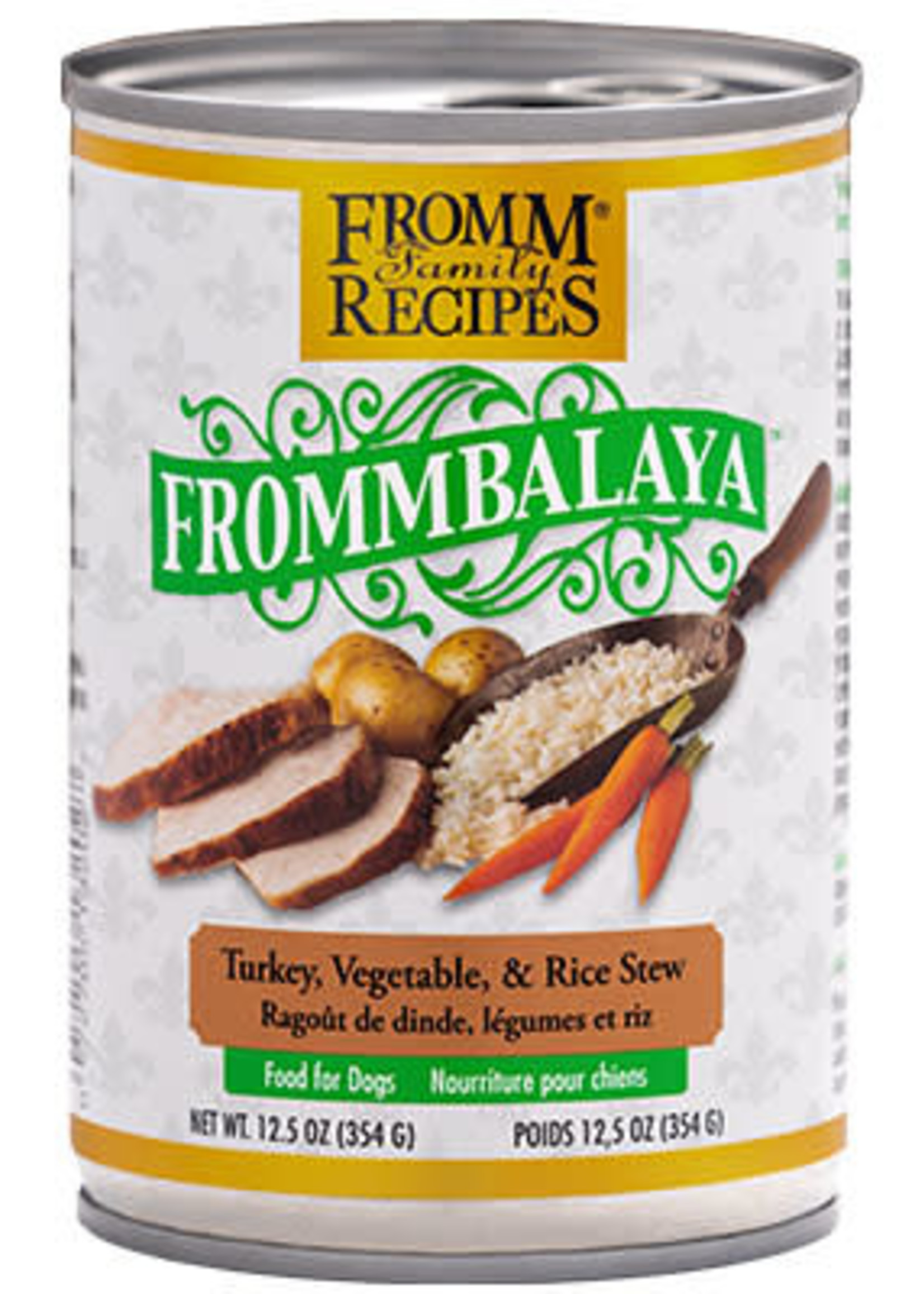 Fromm FrommBALAYA Turkey, Vegetable, & Rice Stew 12.5oz