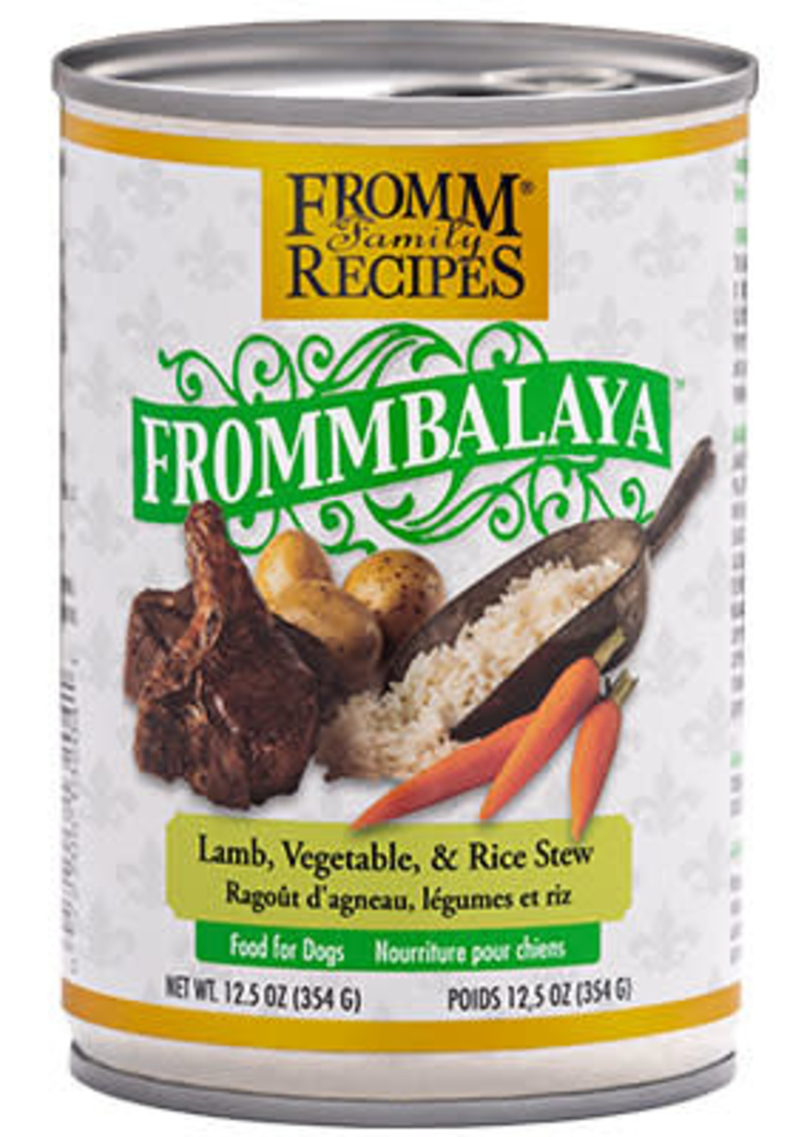 Fromm® FrommBALAYA Lamb, Vegetable, & Rice Stew 12.5oz