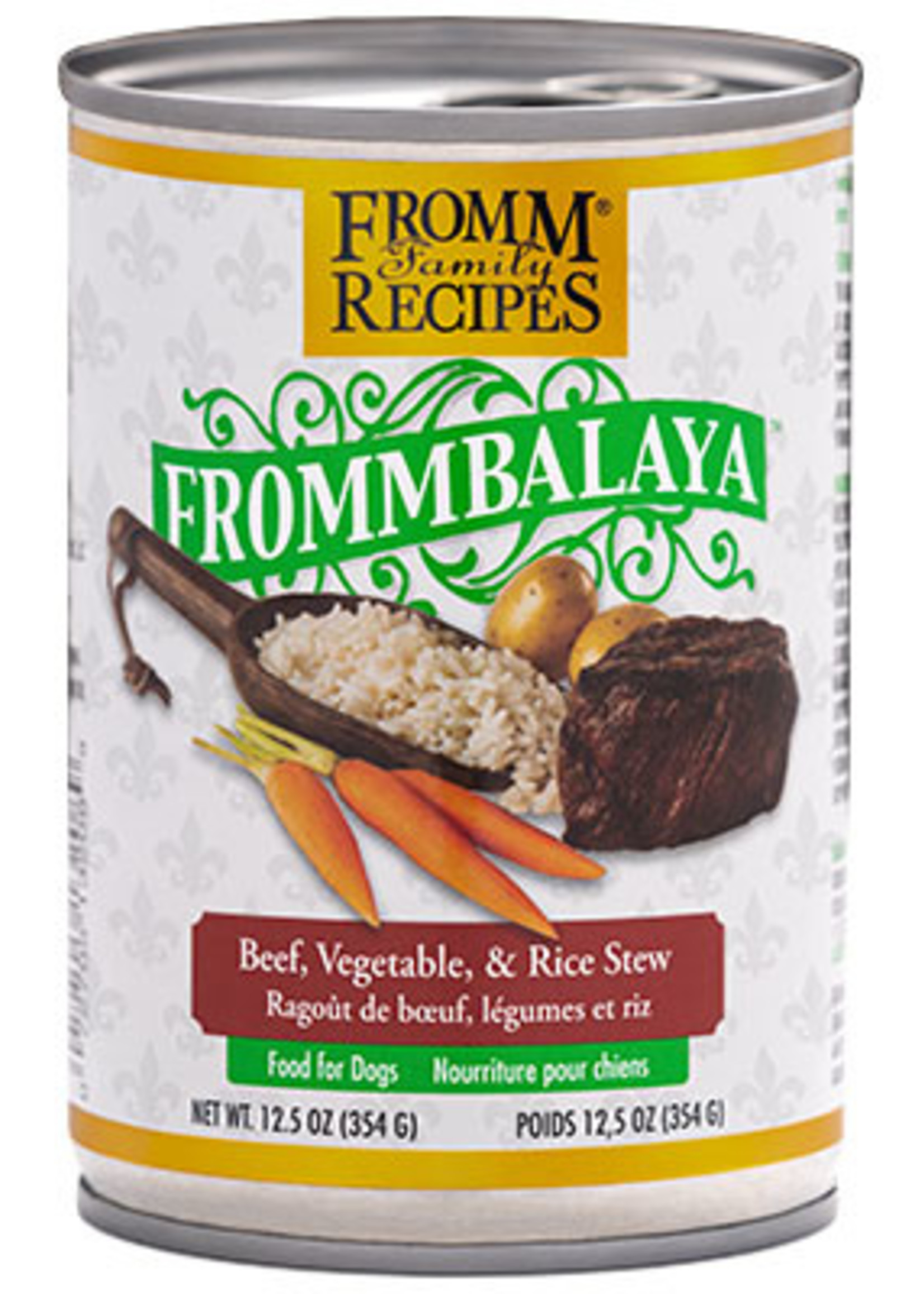 Fromm FrommBALAYA Beef, Vegetable, & Rice Stew 12.5oz