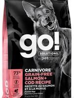 PETCUREAN GO! DOG GF SALMON/COD  22lbs
