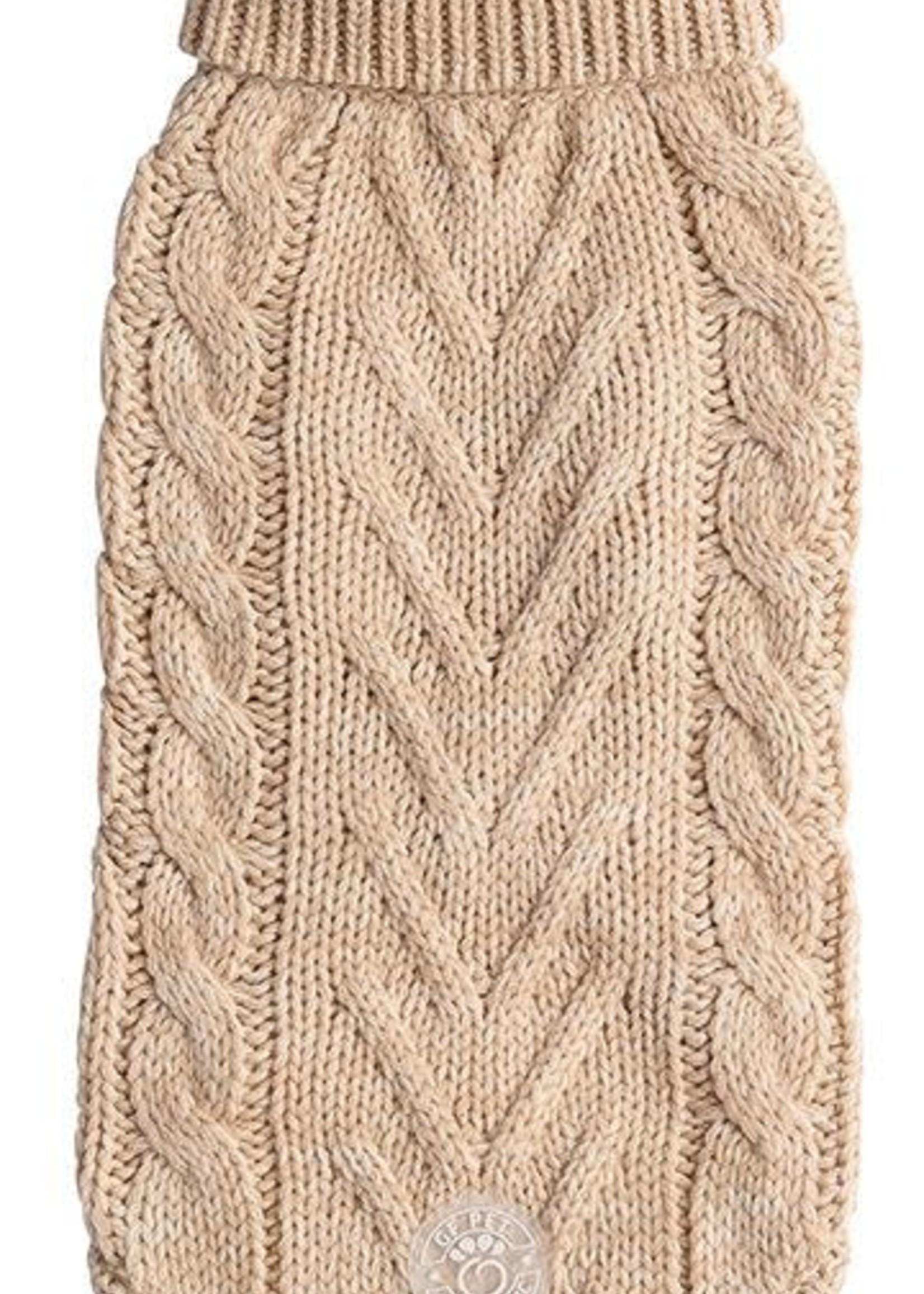 GF Pet® GF Pet Chalet Sweater Oatmeal Xxs