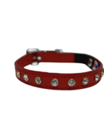 "Angel™Pet Supplies Athens Collar 12"" Valentine Red"