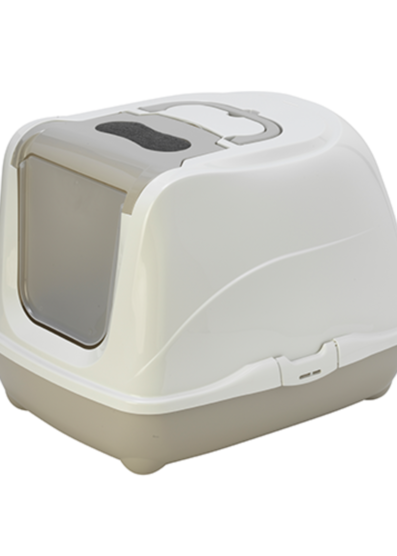 Moderna® Moderna Flip Cat Closed Litter Box Jumbo Grey