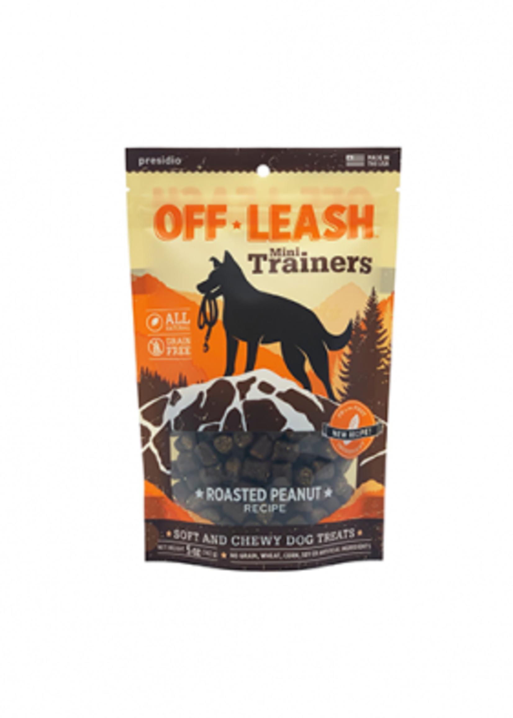 Off-Leash™ Presidio Off-Leash Mini Trainers Roasted Peanut 5oz