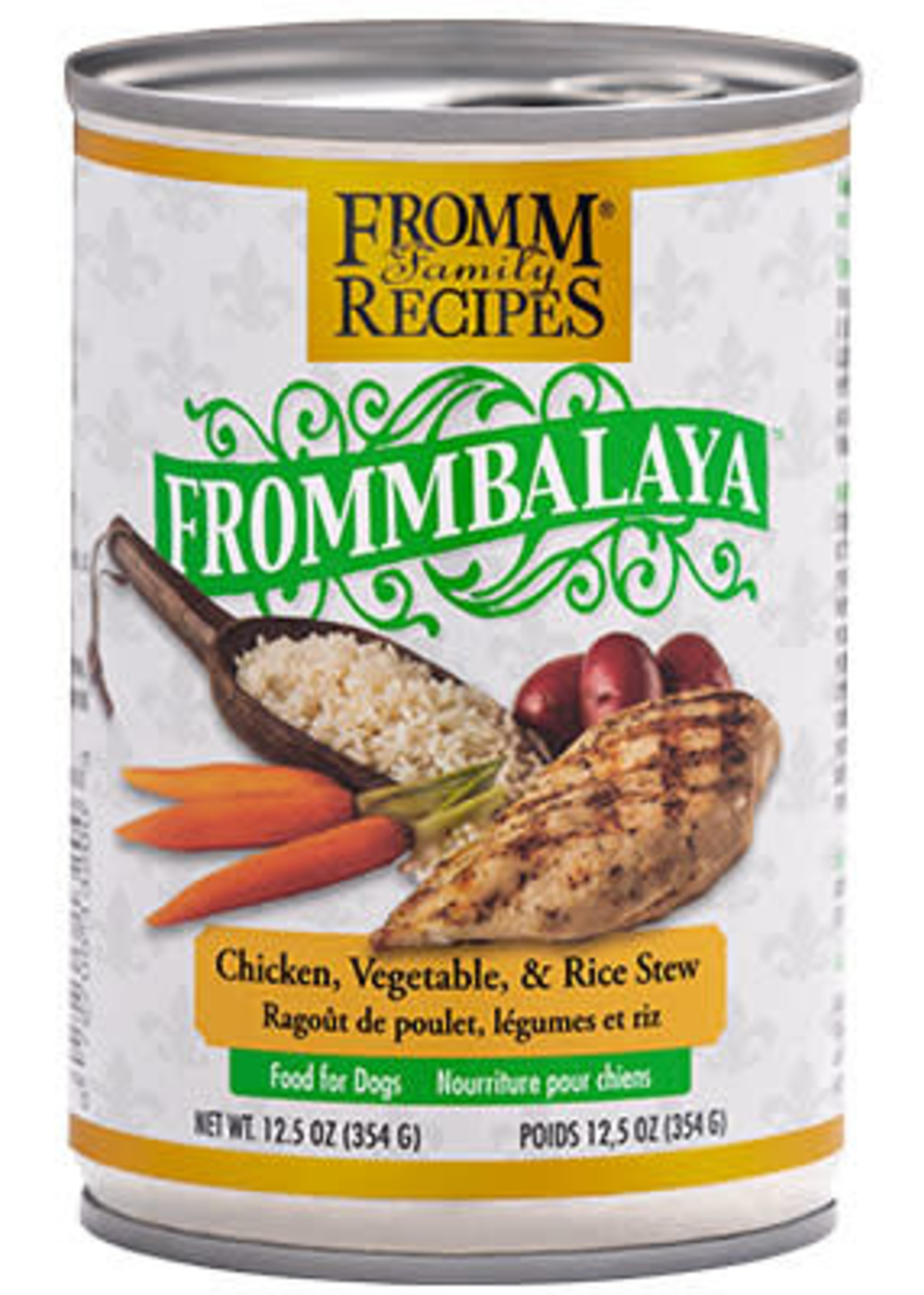 Fromm® FrommBALAYA Chicken, Vegetable, & Rice Stew 12.5oz