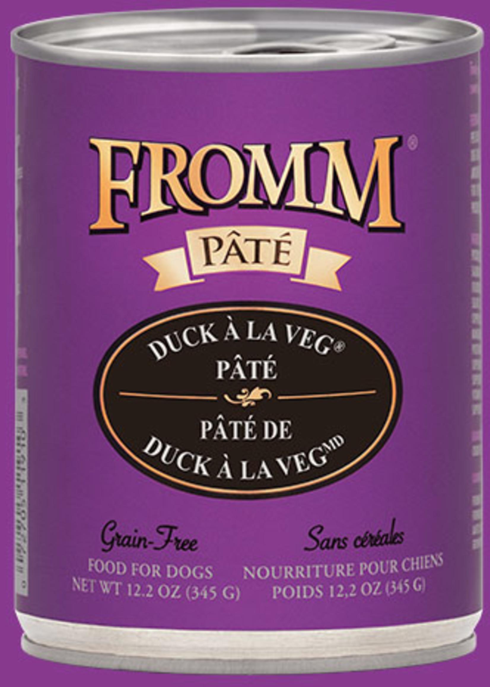 Fromm® Fromm GF Duck À La Veg® Pâté 12oz