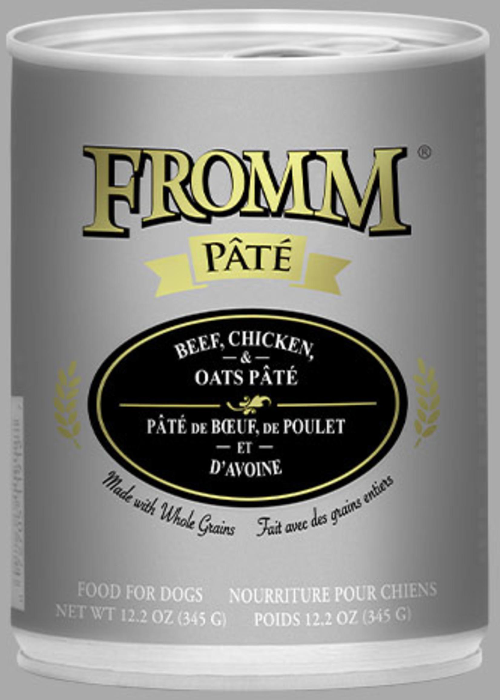 Fromm Fromm Beef, Chicken, & Oats Pâté 12oz