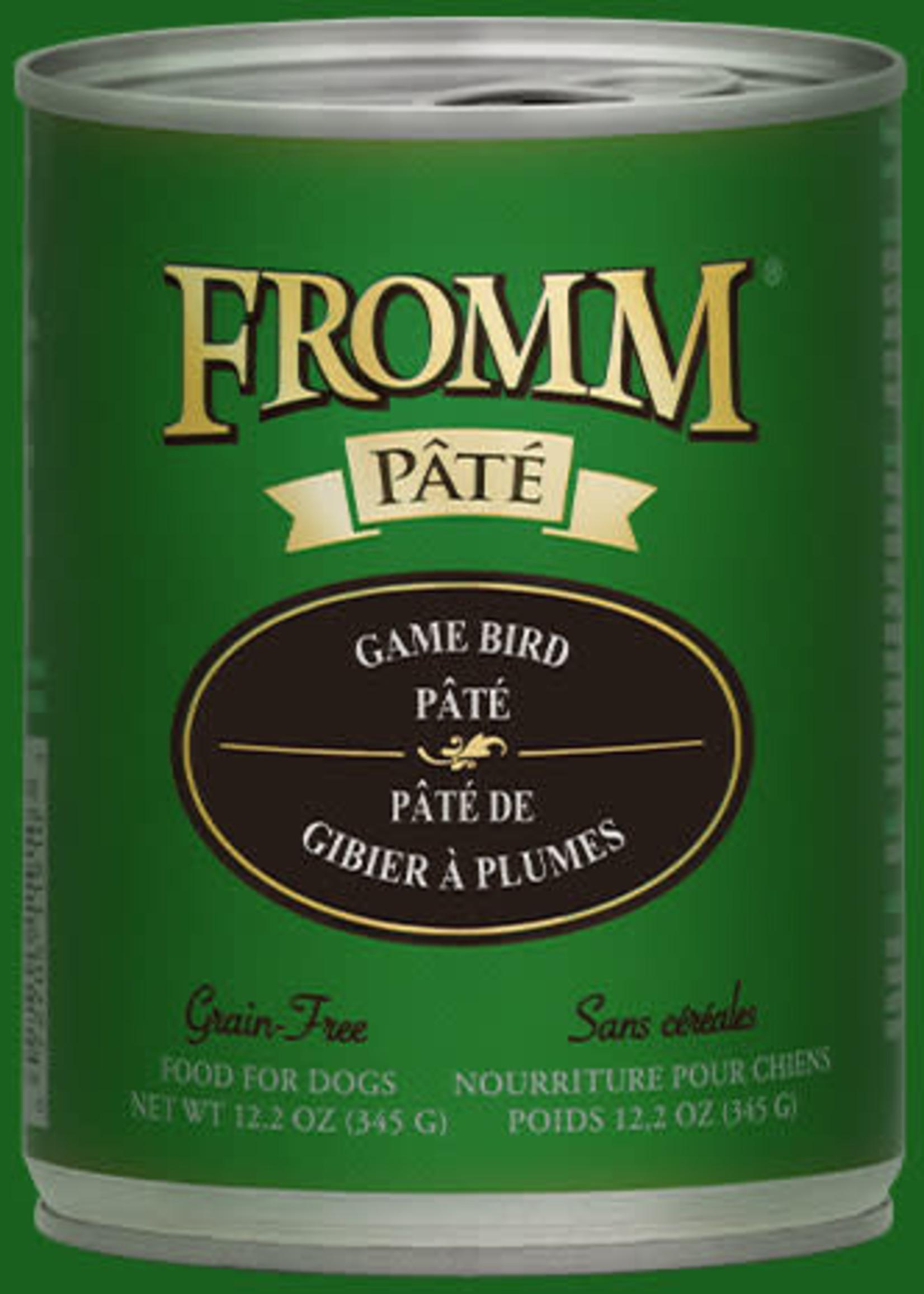 Fromm Fromm GF Game Bird Pâté 12oz