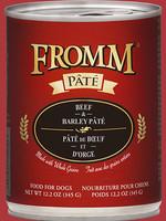 Fromm Beef & Barley Pâté 12oz