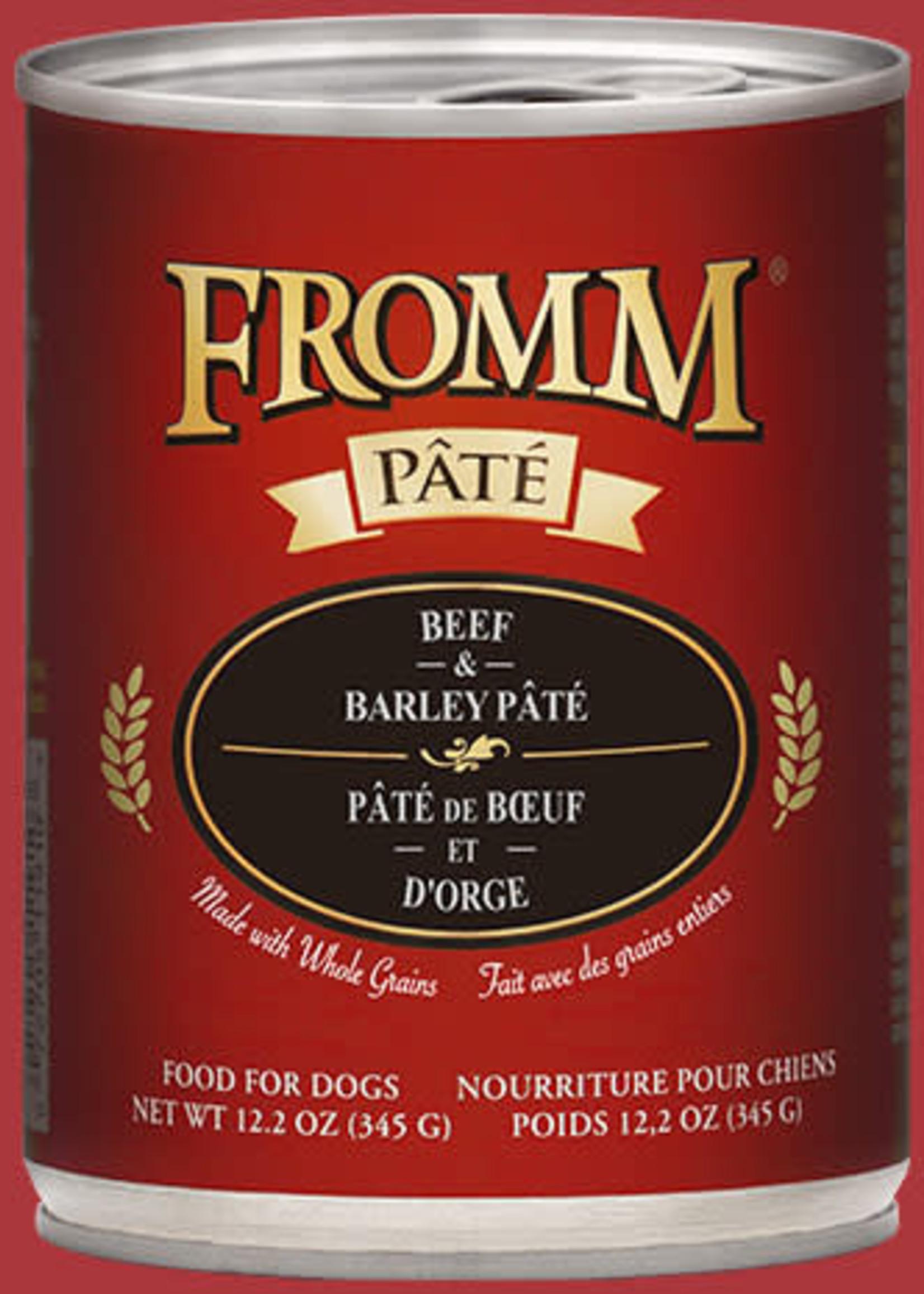 Fromm Fromm Beef & Barley Pâté 12oz