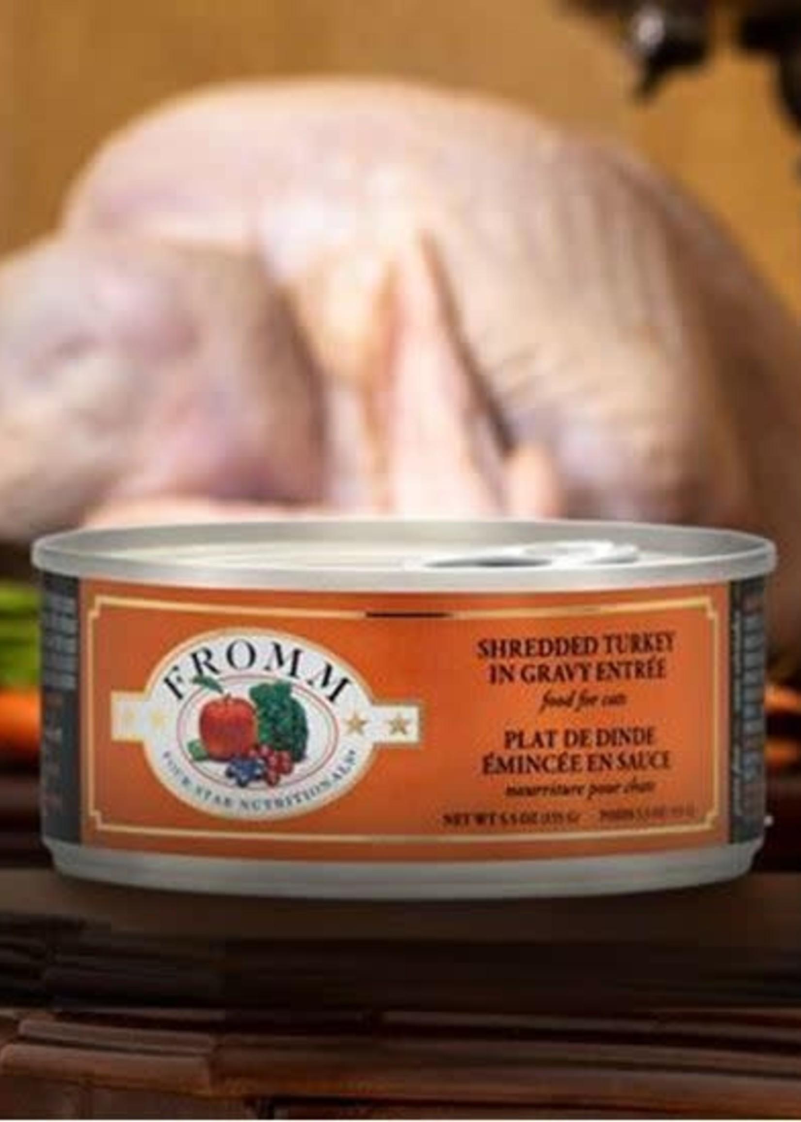 Fromm Fromm Four-Star Shredded Turkey in Gravy Entrée 5.5oz