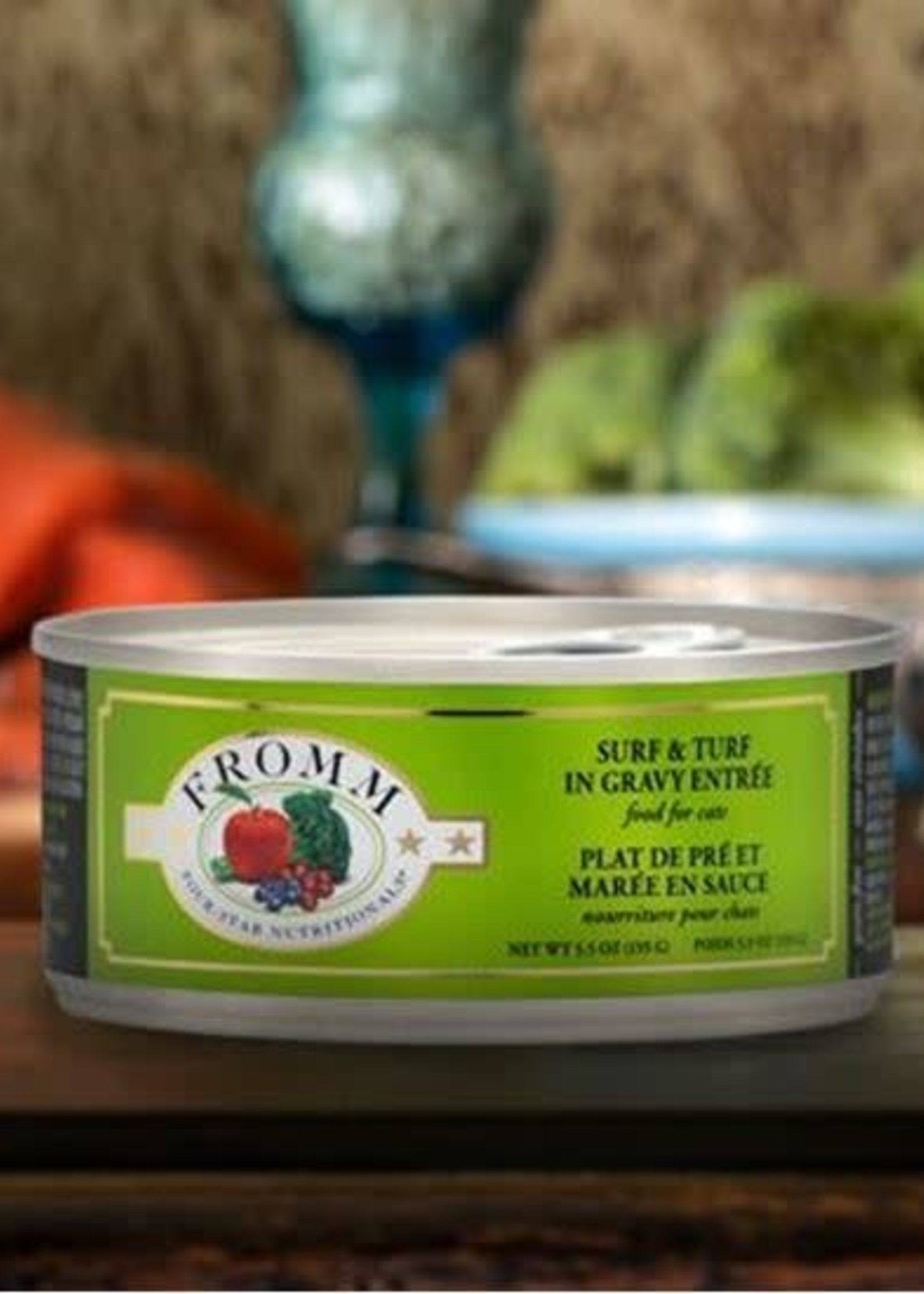 Fromm Fromm Four-Star Surf & Turf in Gravy Entrée 5.5oz