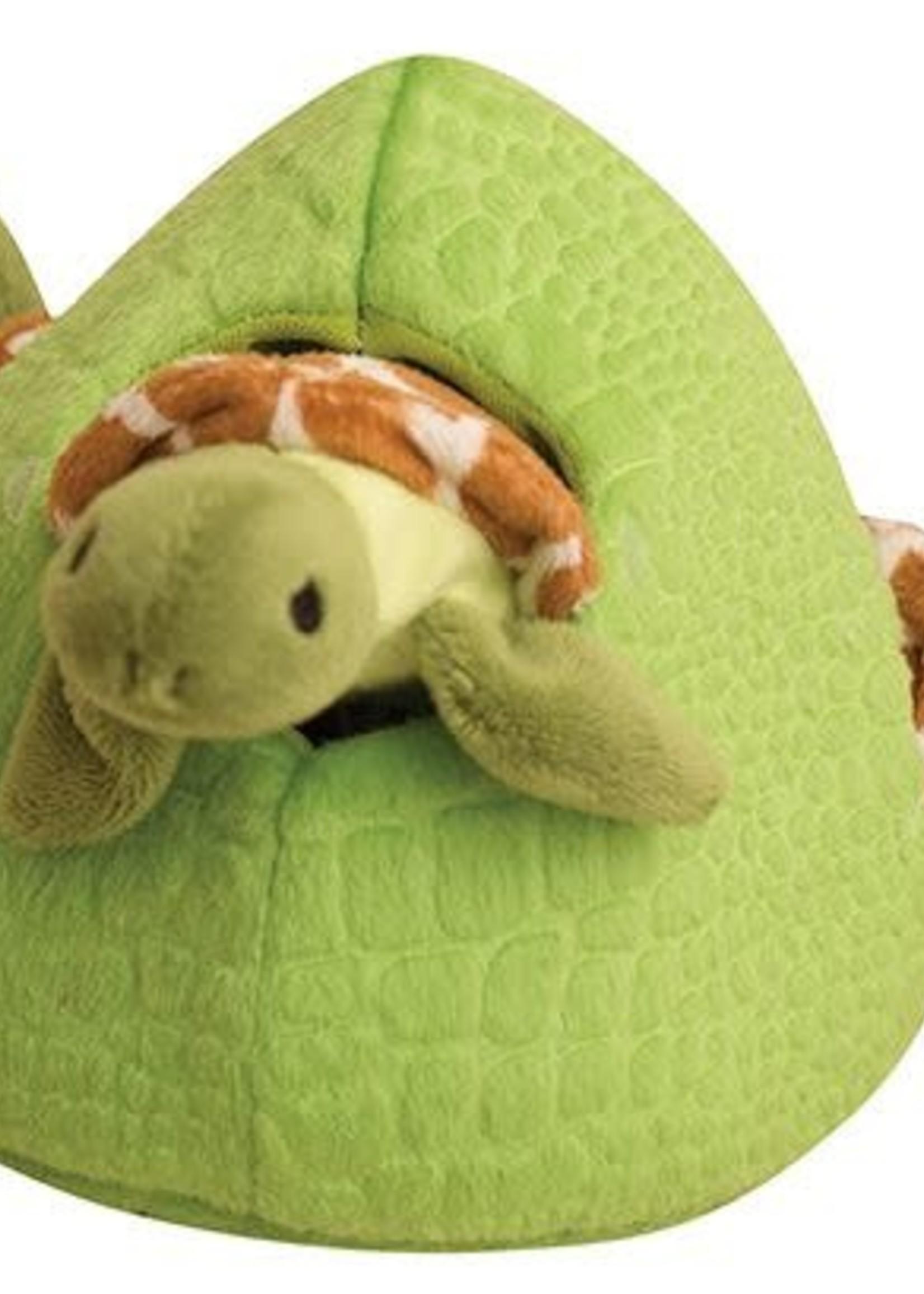 snugarooz Hide and Seek Reef 4 toys in one Dog