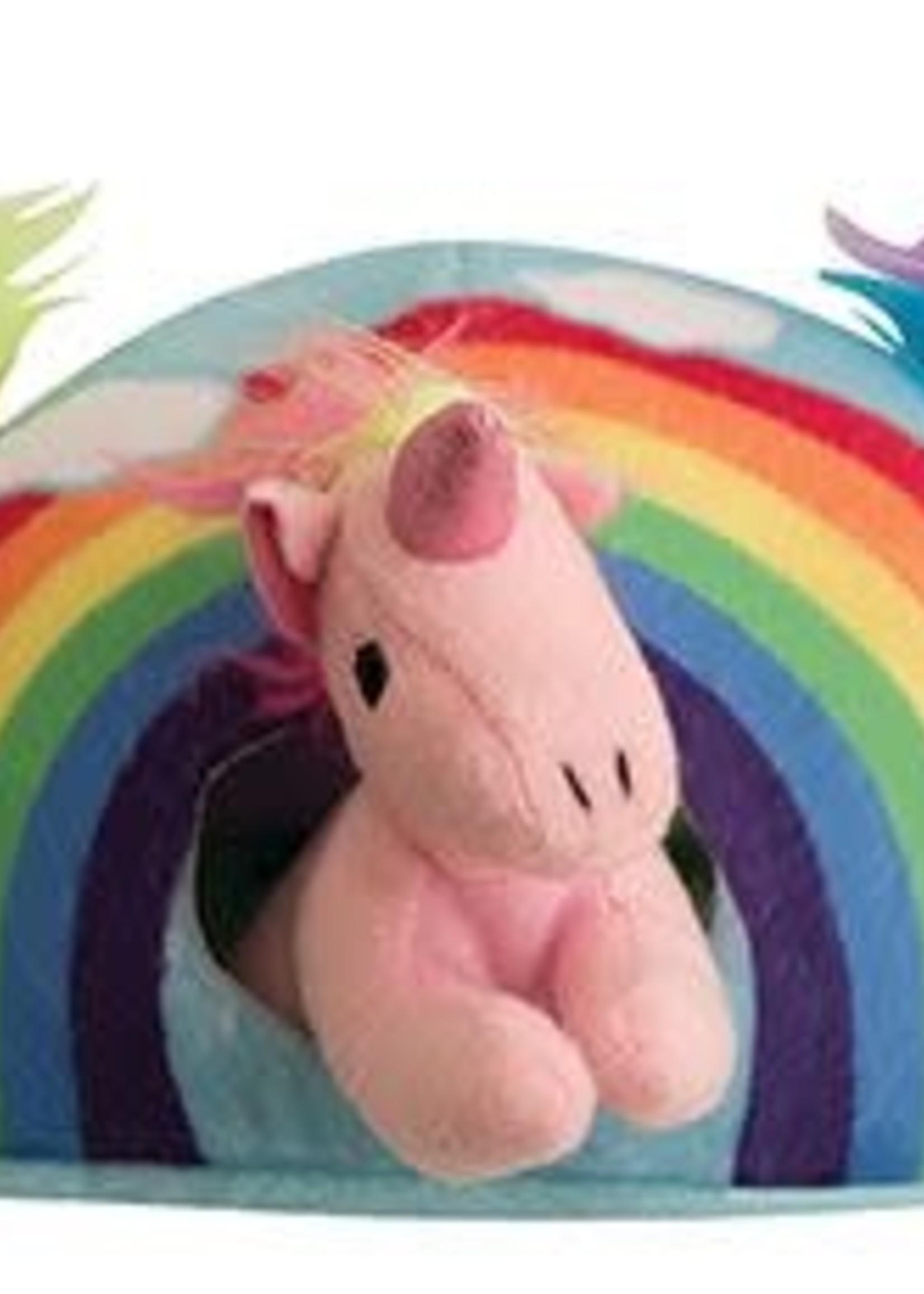 snugarooz Hide and Seek Rainbow 4 toys in one Dog