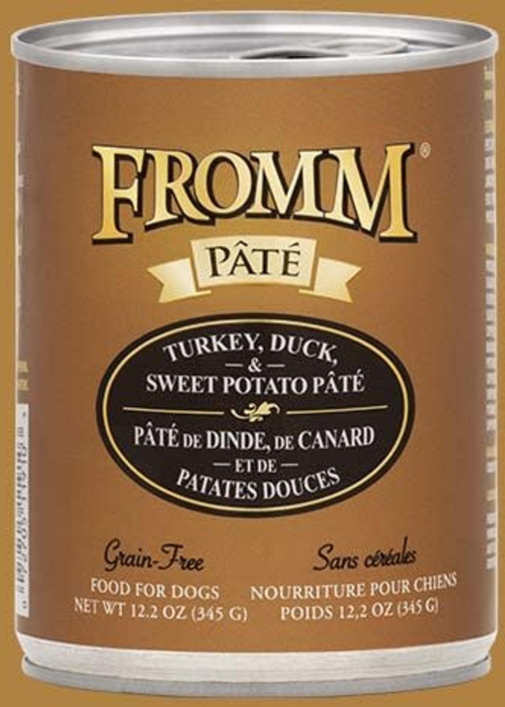 Fromm® Fromm GF Turkey, Duck, & Sweet Potato Pâté 12oz