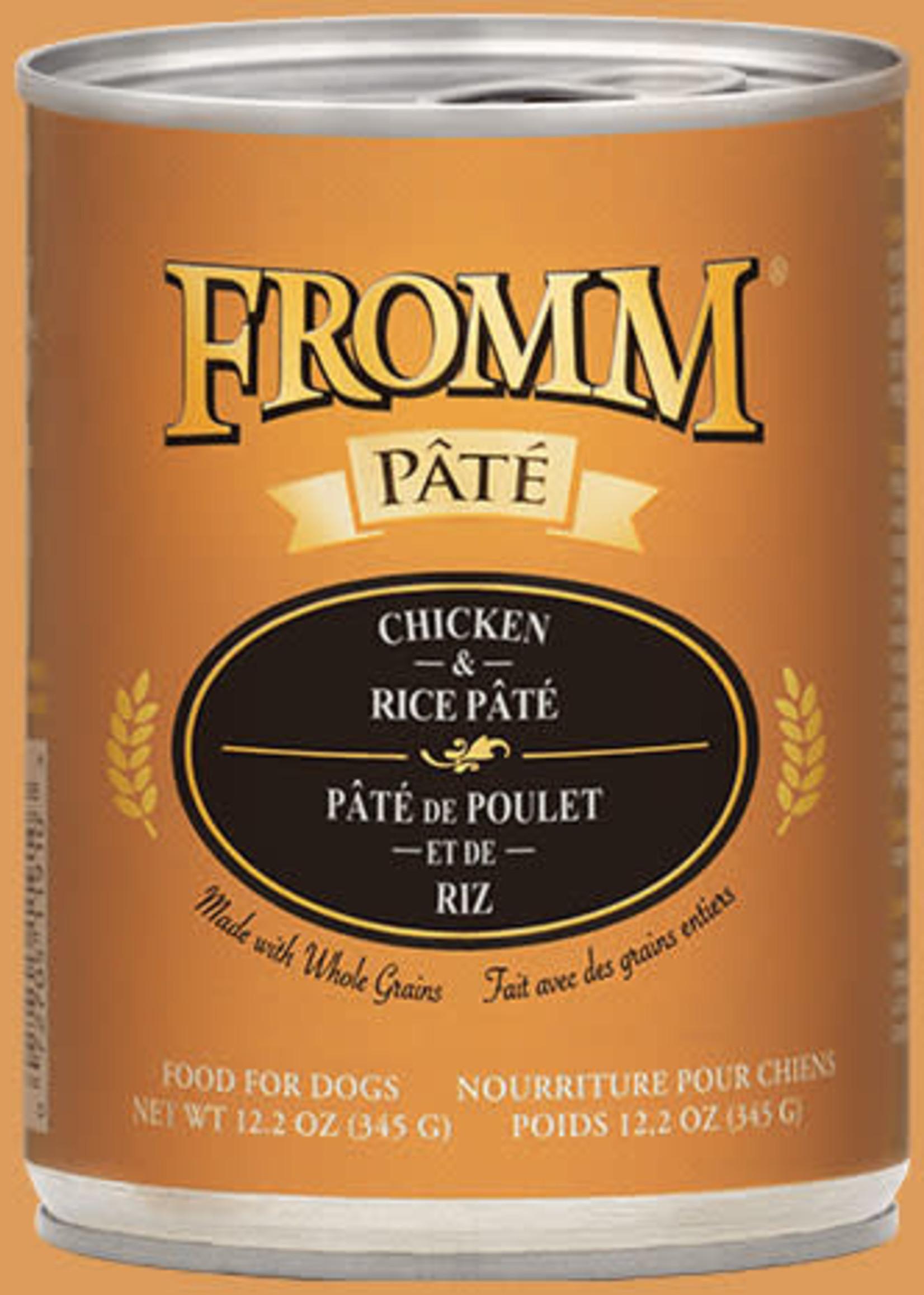 Fromm Fromm Chicken & Rice Pâté 12oz