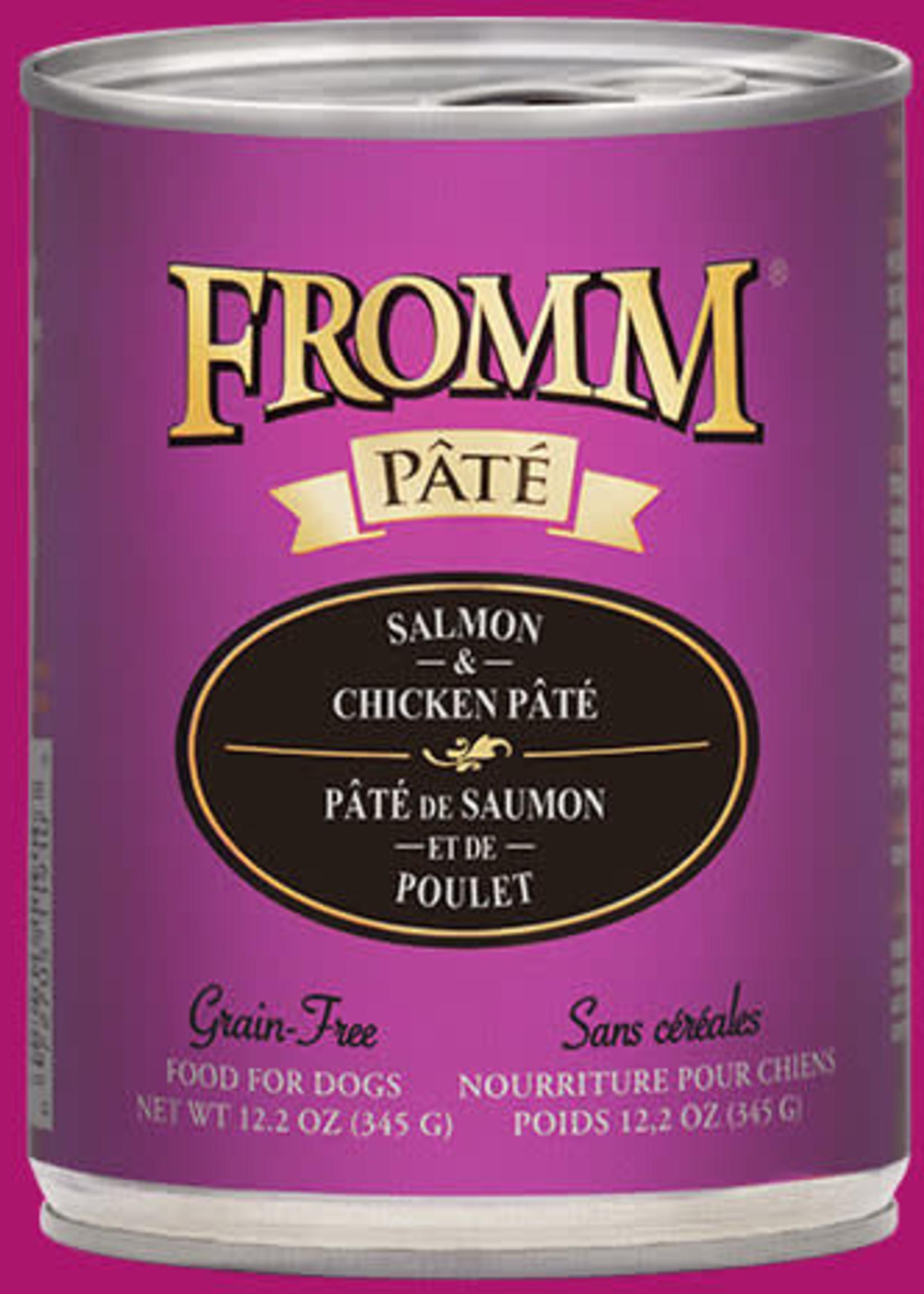 Fromm® Fromm GF Salmon & Chicken Pâté 12oz