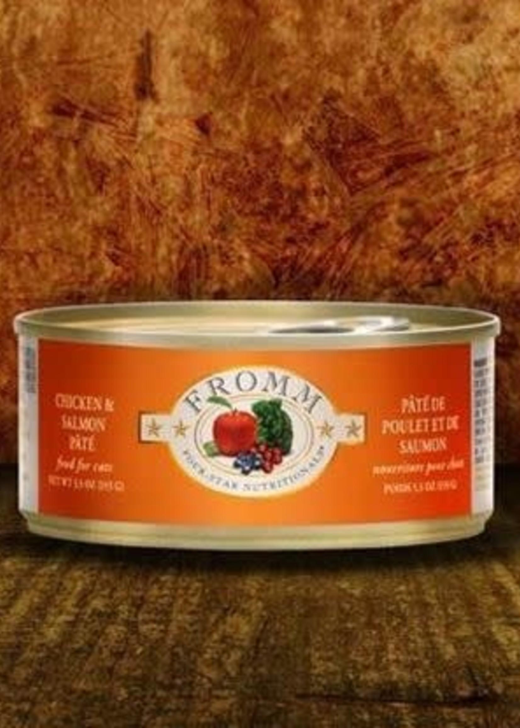 Fromm Fromm Four-Star Chicken & Salmon Pâté 5.5oz