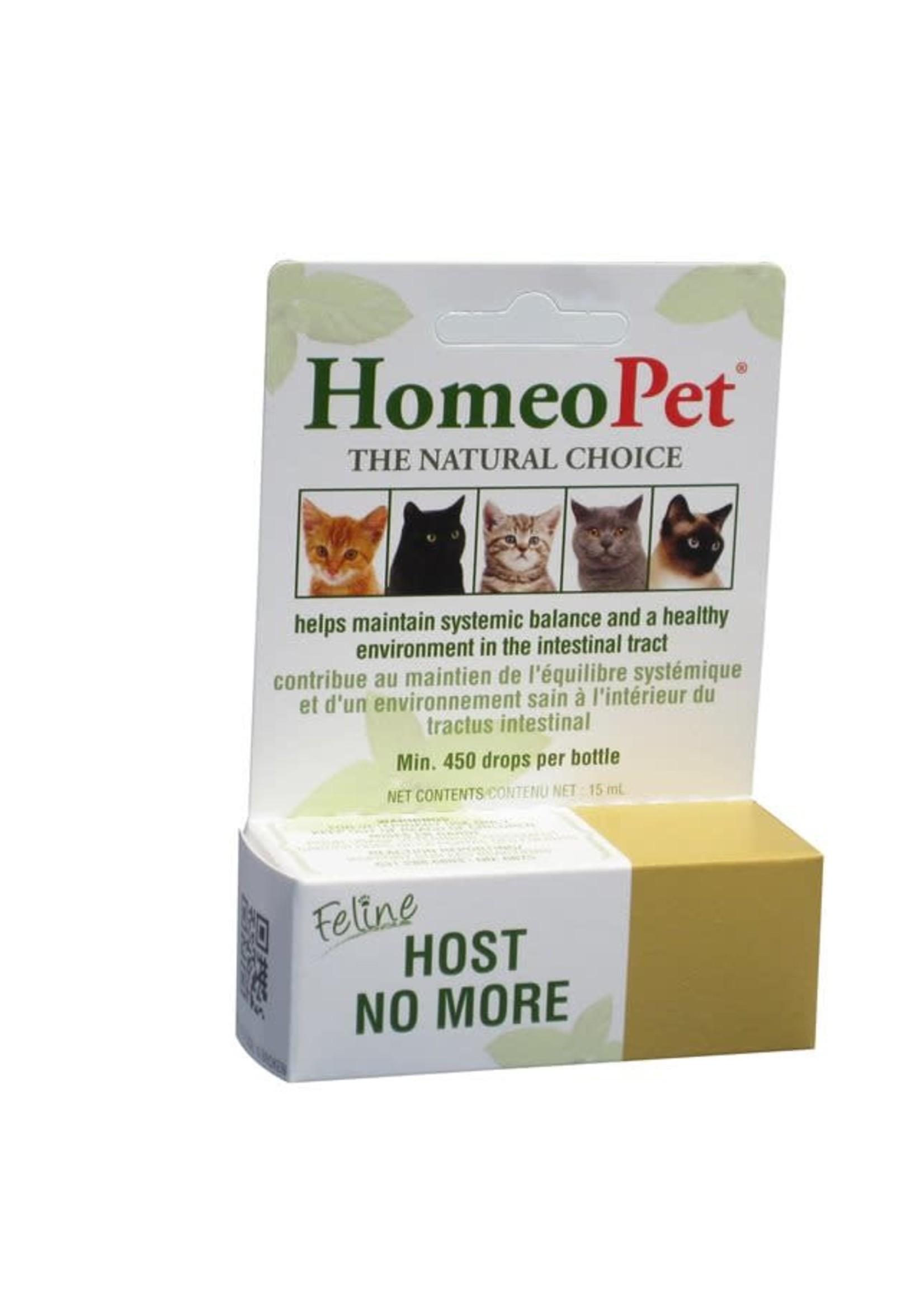 HOMEOPET Feline Host No More 15mL