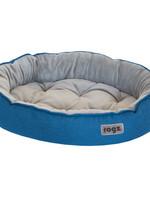 ROGZ Cuddle Oval Podz Blue Small