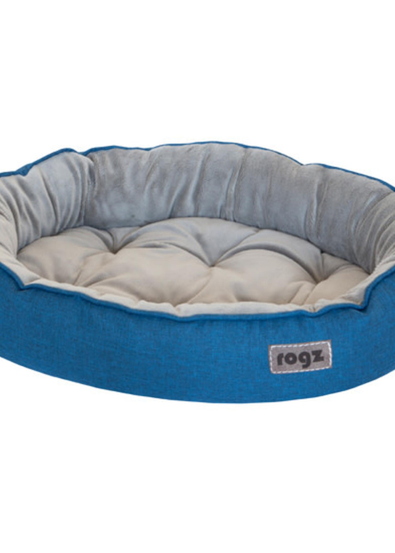 Rogz© Cuddle Oval Podz Blue Small
