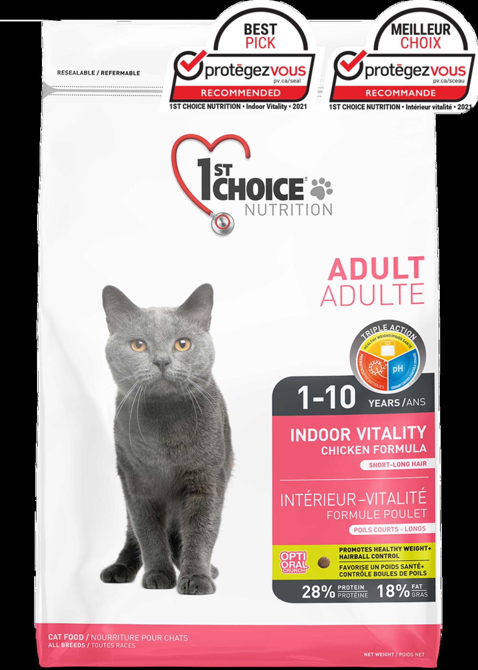 1st Choice 1st Choice Indoor Vitality Chicken Formula 6lbs
