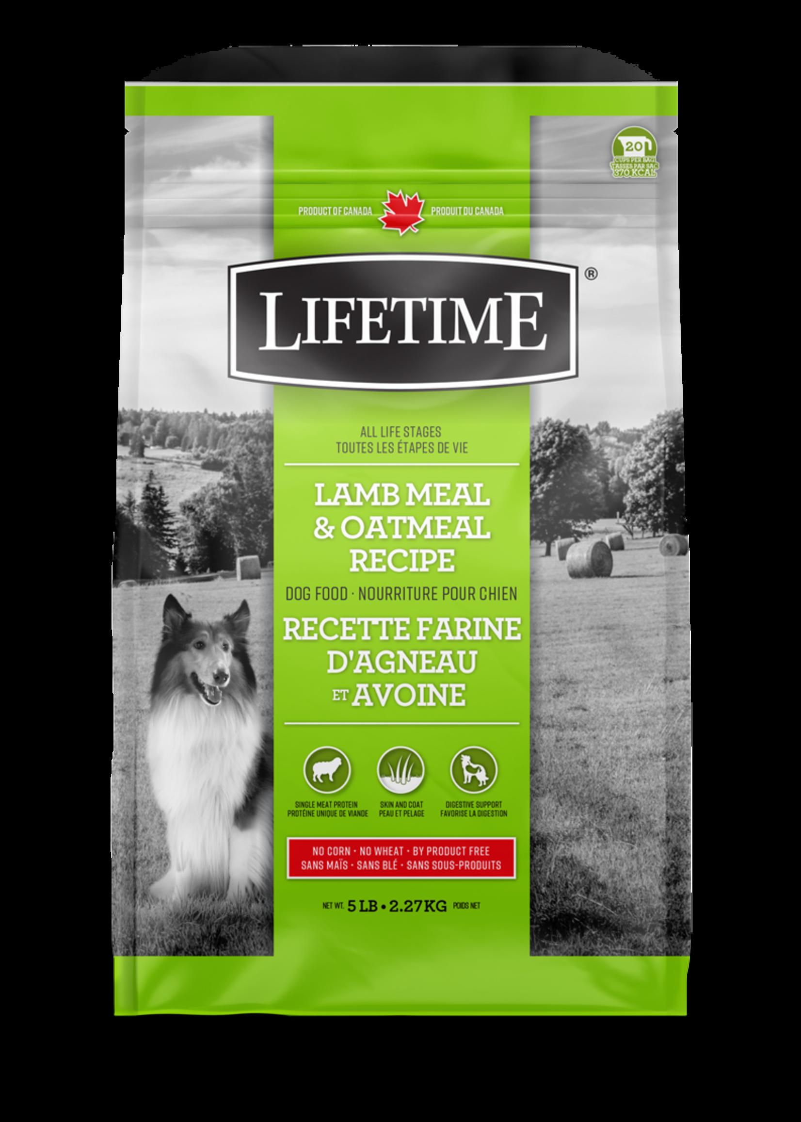 LifeTime® LIFETIME LAMB MEAL & OATMEAL RECIPE 25lbs