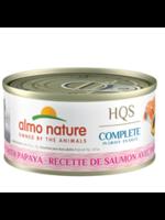 Almo Nature© ALMO NATURE HQS COMPLETE SALMON /w PAPAYA in Gravy 2.5oz