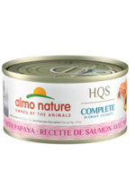 Almo Nature© HQS Complete Salmon Recipe with Papaya in Gravy 70g