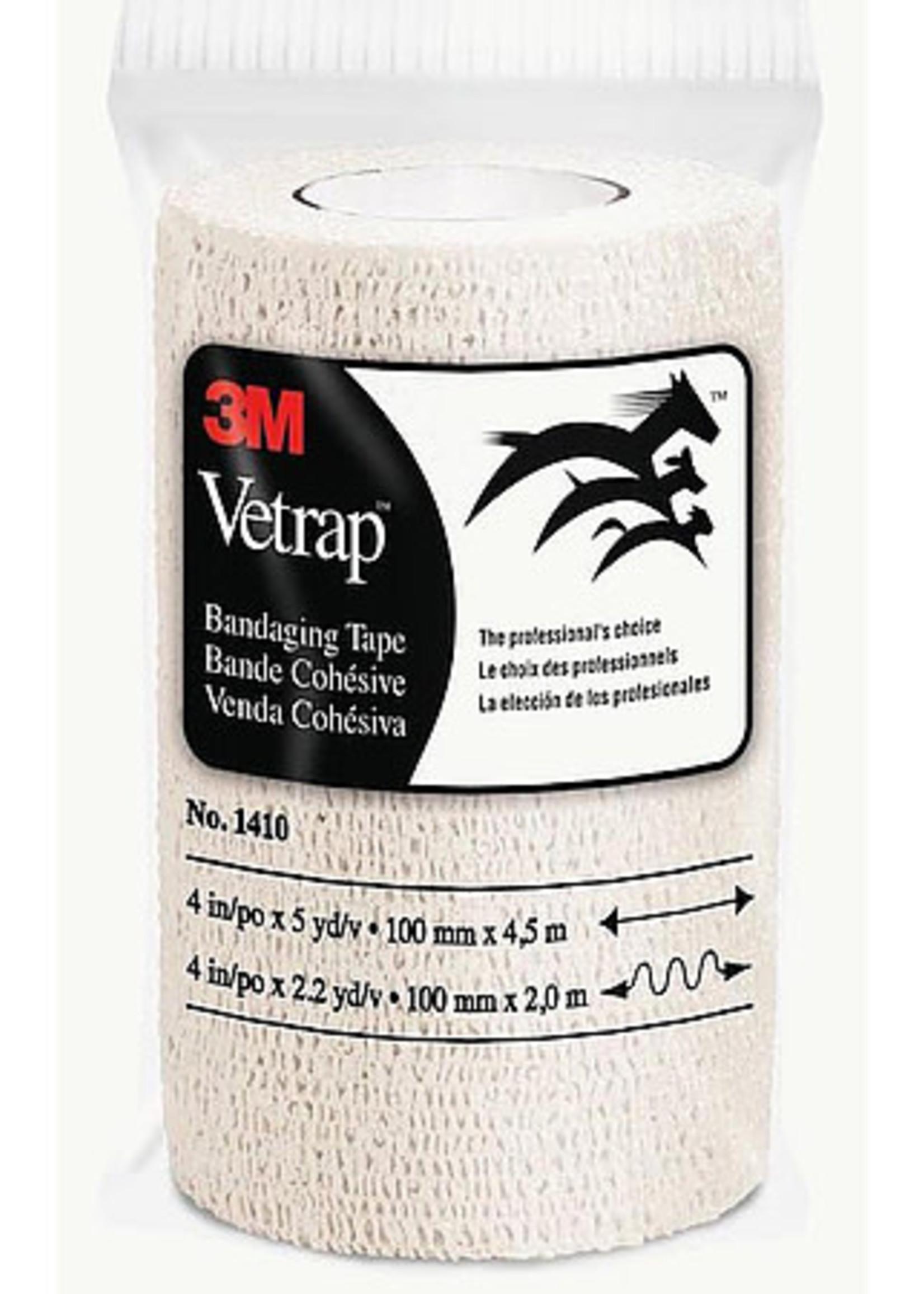"""3M 3M Vetrap Bandaging Tape White 4""""x 15'"""