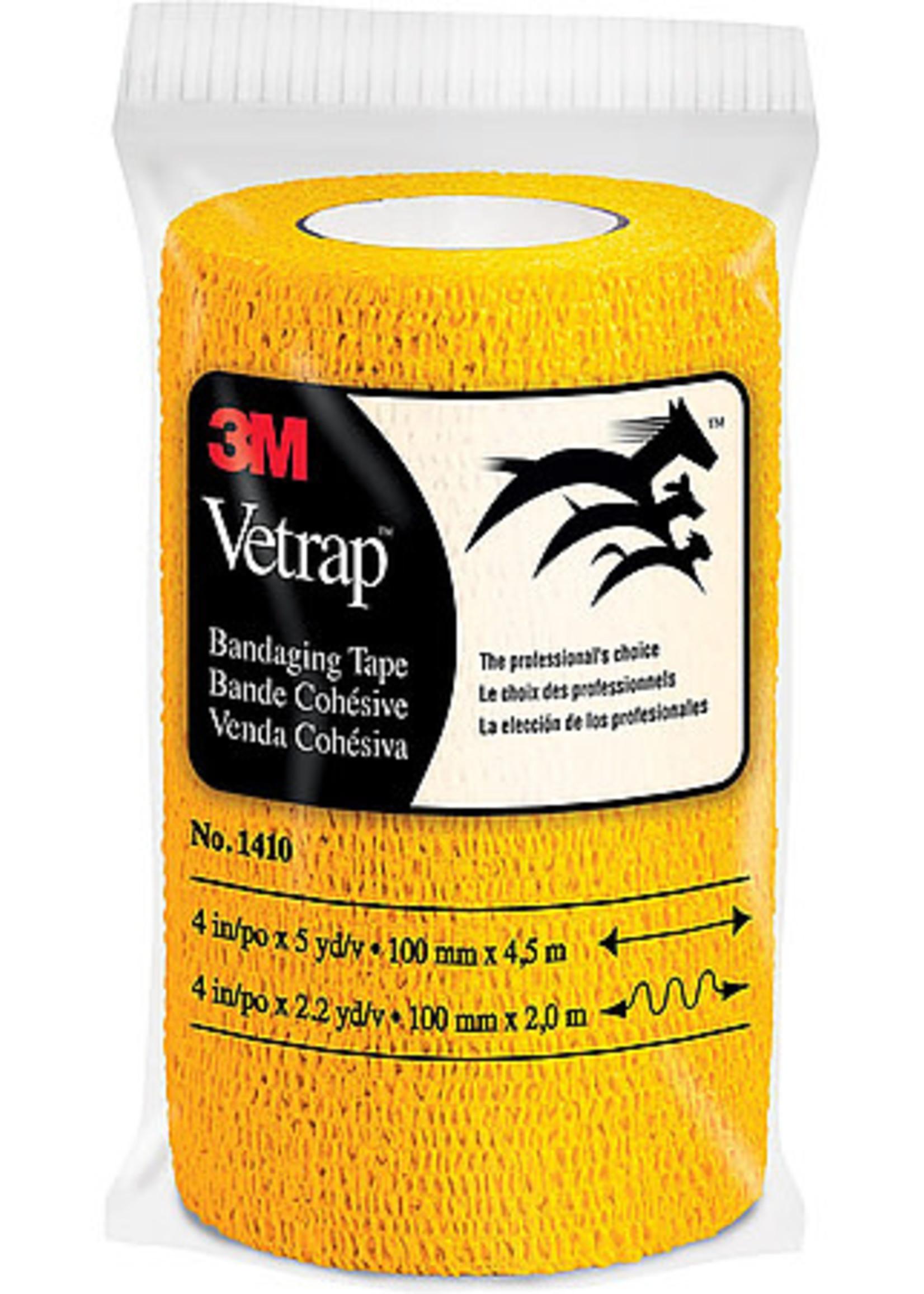 "3M 3M Vetrap Bandaging Tape Gold 4""X15'"