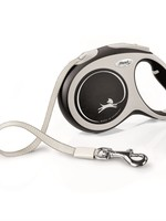 FLEXI FLEXI RETRACTABLE LEASH COMFORT TAPE 5m LRG GREY