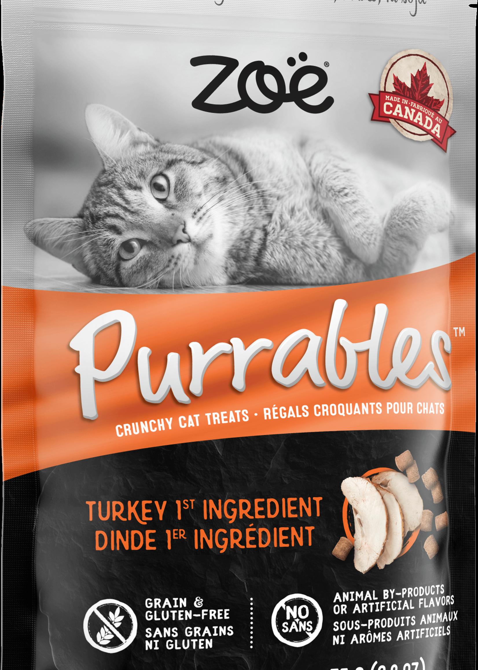 Zoë Zoë Purrables™ Crunchy Turkey 75g