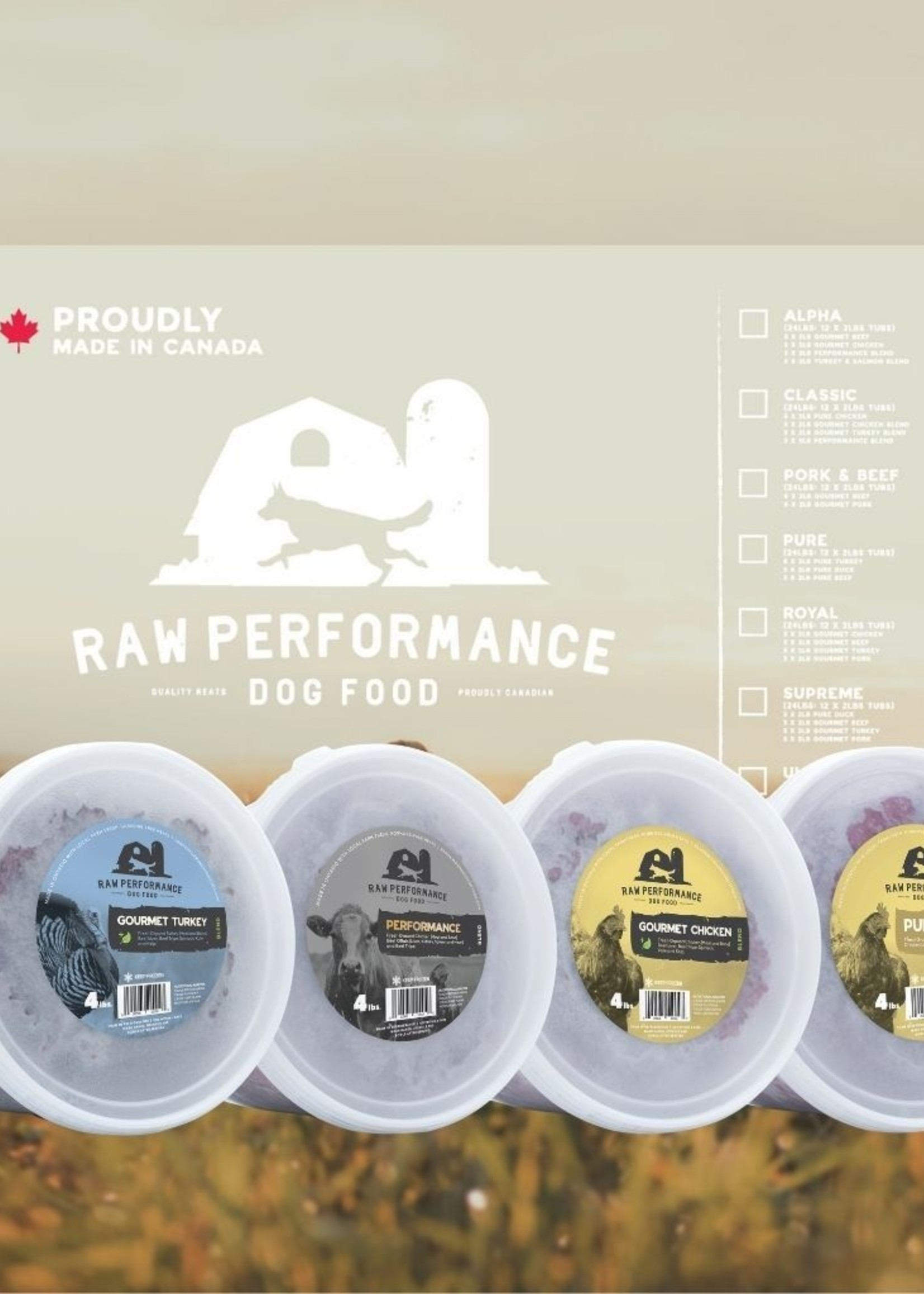 Raw Performance Raw Performance Case: The Wolf Pack 48lbs
