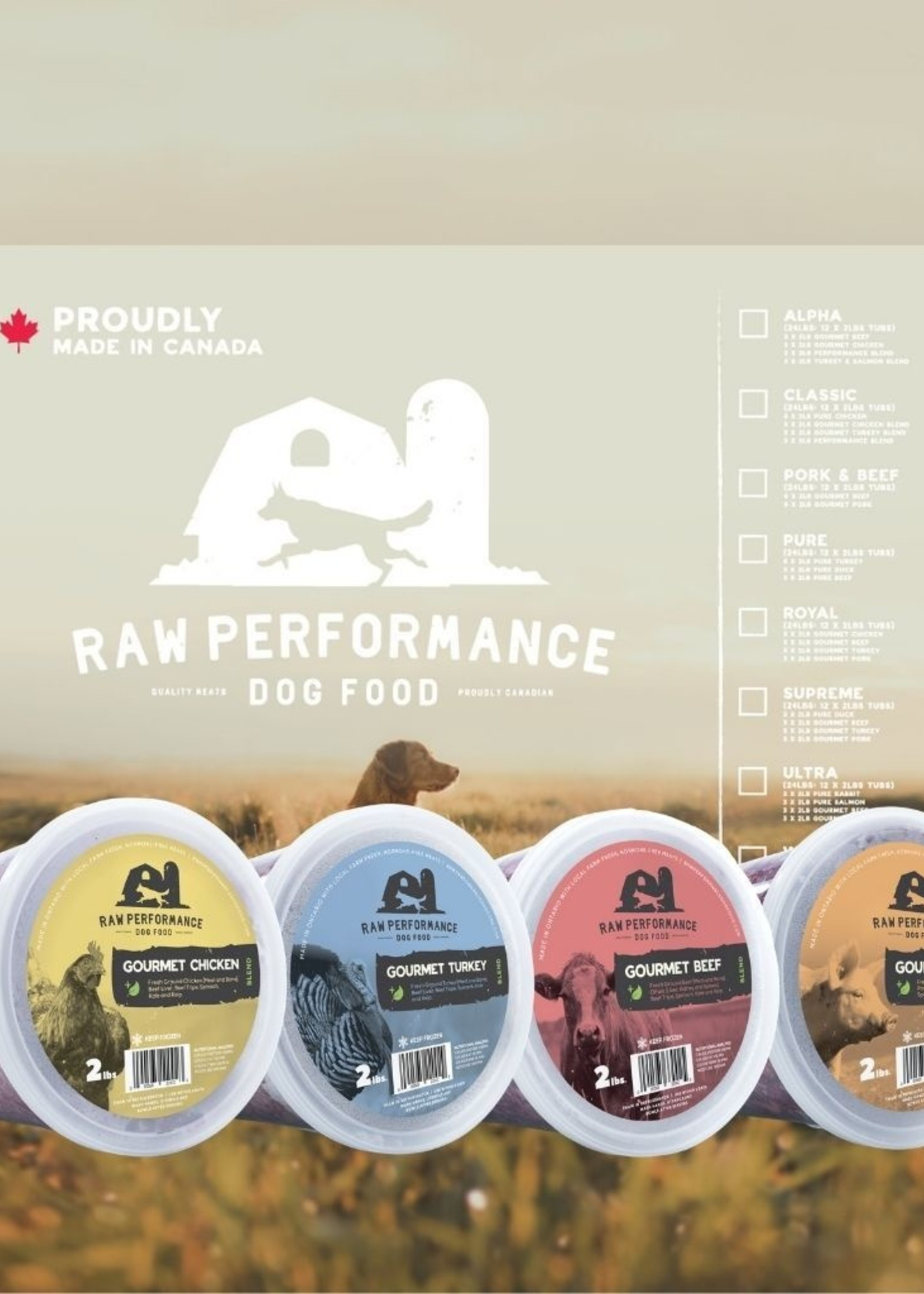 Raw Performance Raw Performance Case: The Royal 24lbs