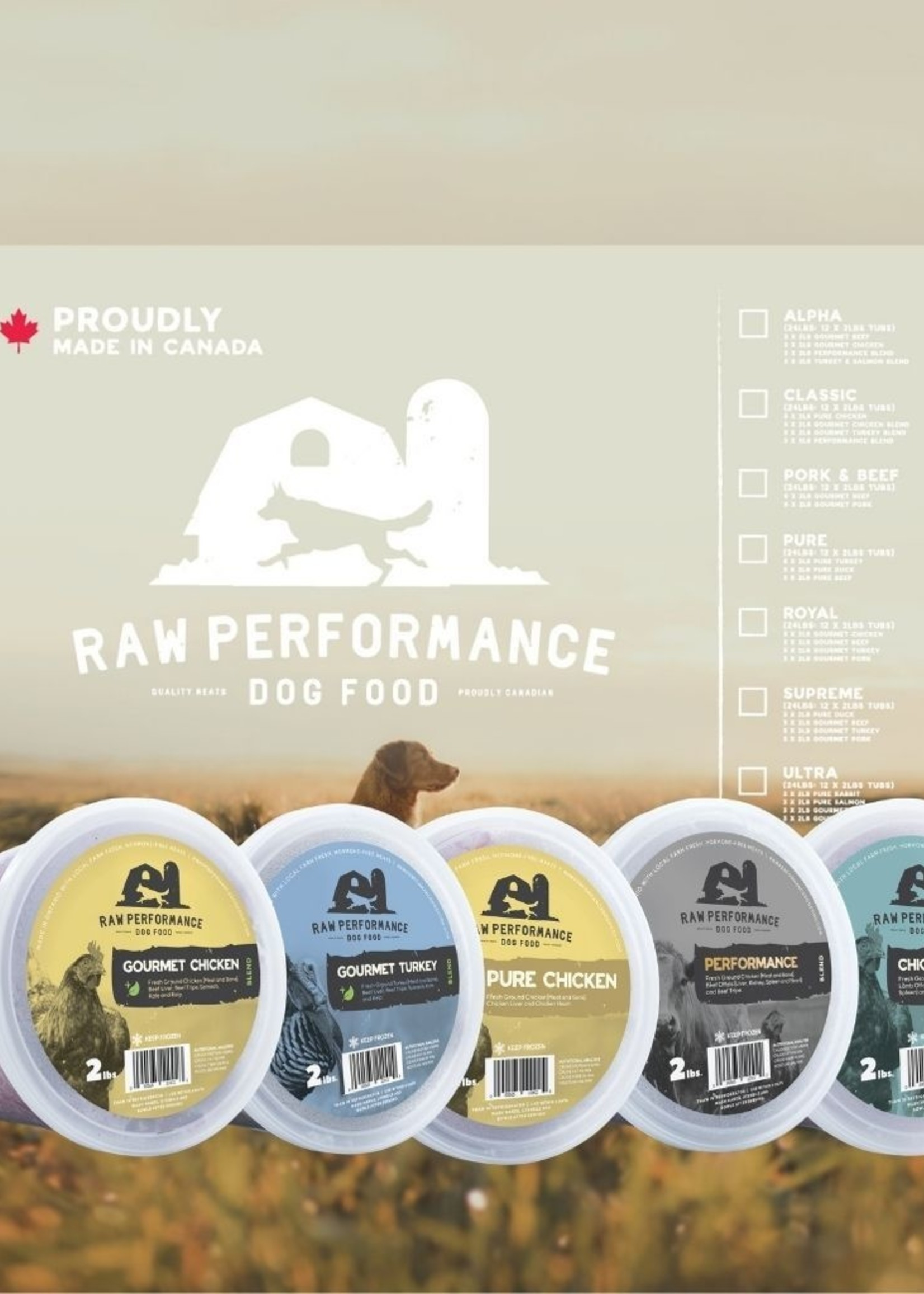 Raw Performance Raw Performance Case: The Classic 30lbs