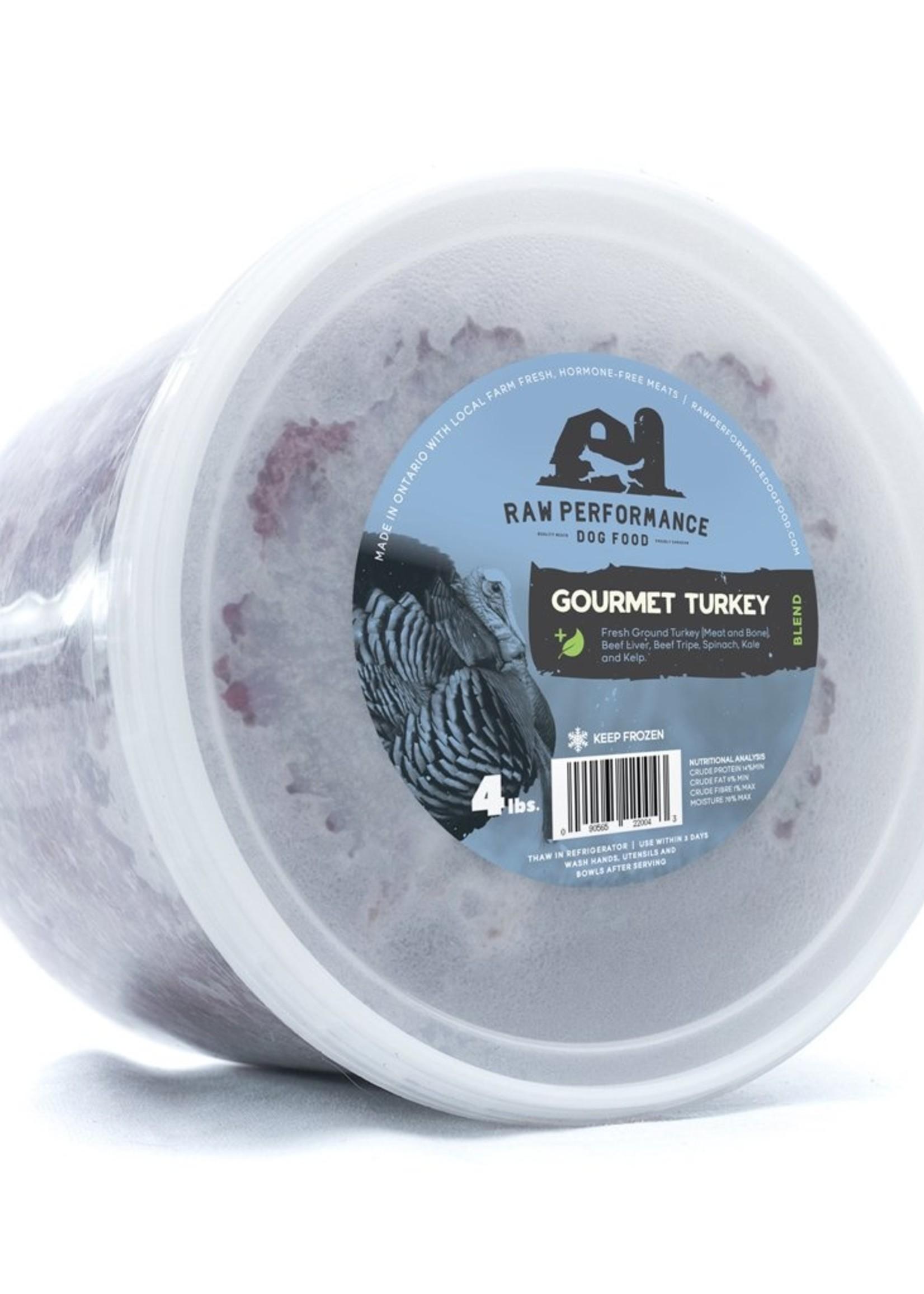 Raw Performance Raw Performance Gourmet Turkey Blend 4lbs
