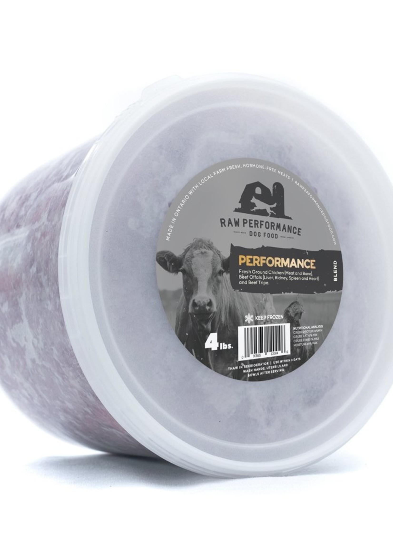 Raw Performance Raw Performance Performance Blend 4lbs