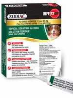 Zodiac® Infestop™ for Dogs between 11-25kG