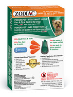 Zodiac® Powerspot® With Smart Shield® Flea & Tick Control For Dogs Under 14kG
