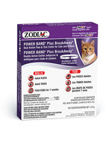 Zodiac® Power Band® Plus BreakAway® Dual Action Flea & Tick Collar for Cats & Kittens
